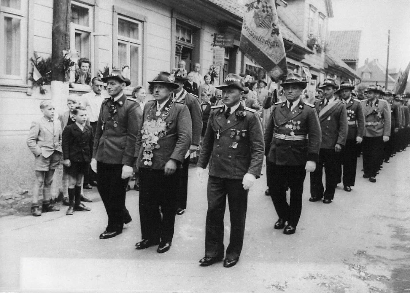 Schützenkönig 1952