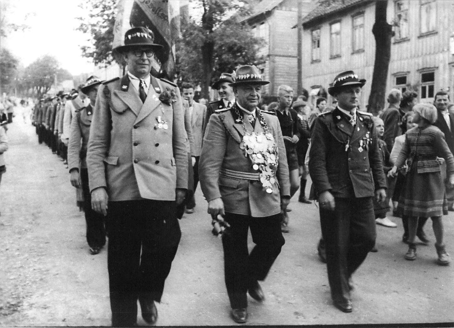 Schützenkönig 1953
