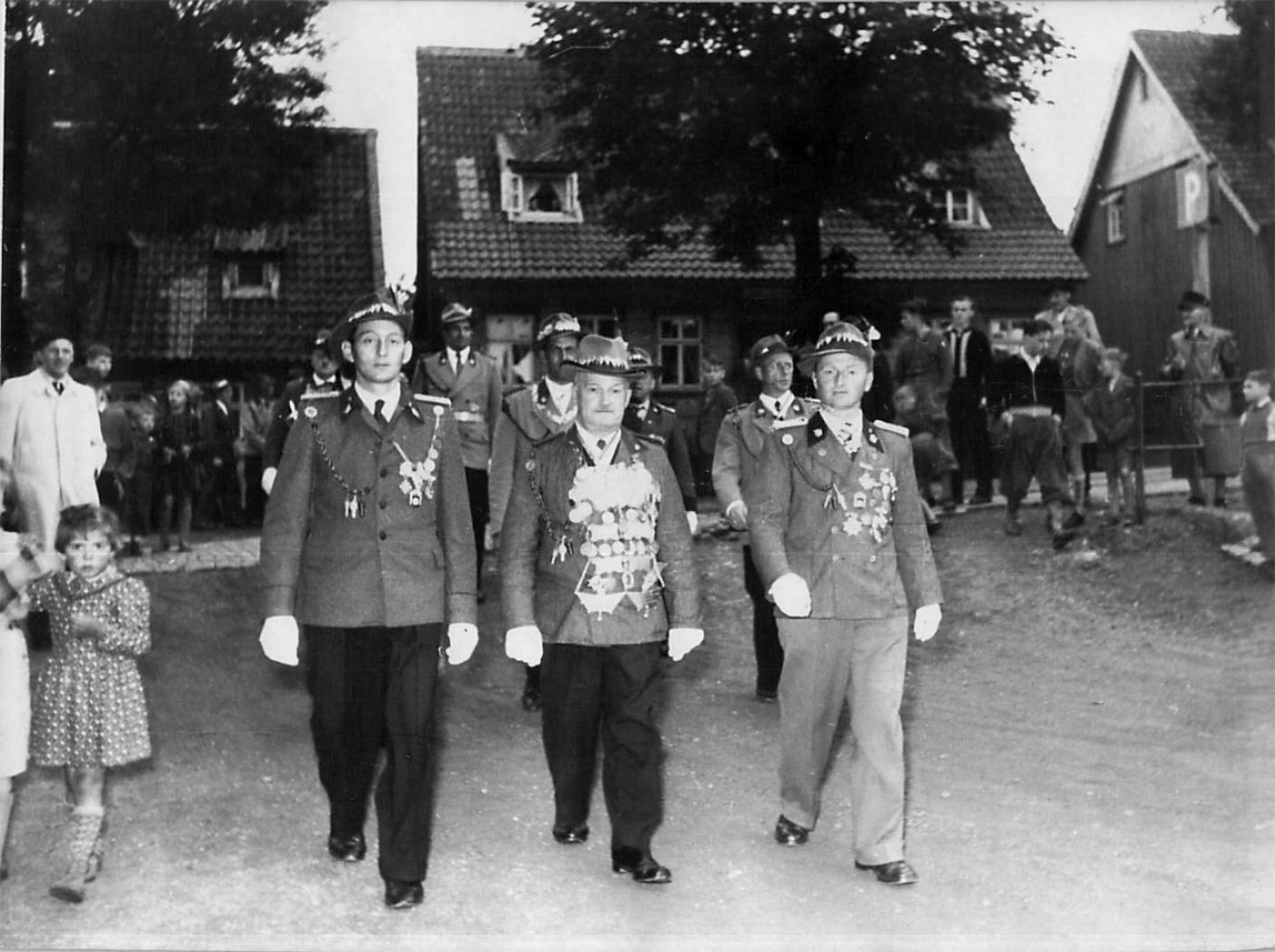 Schützenkönig 1956