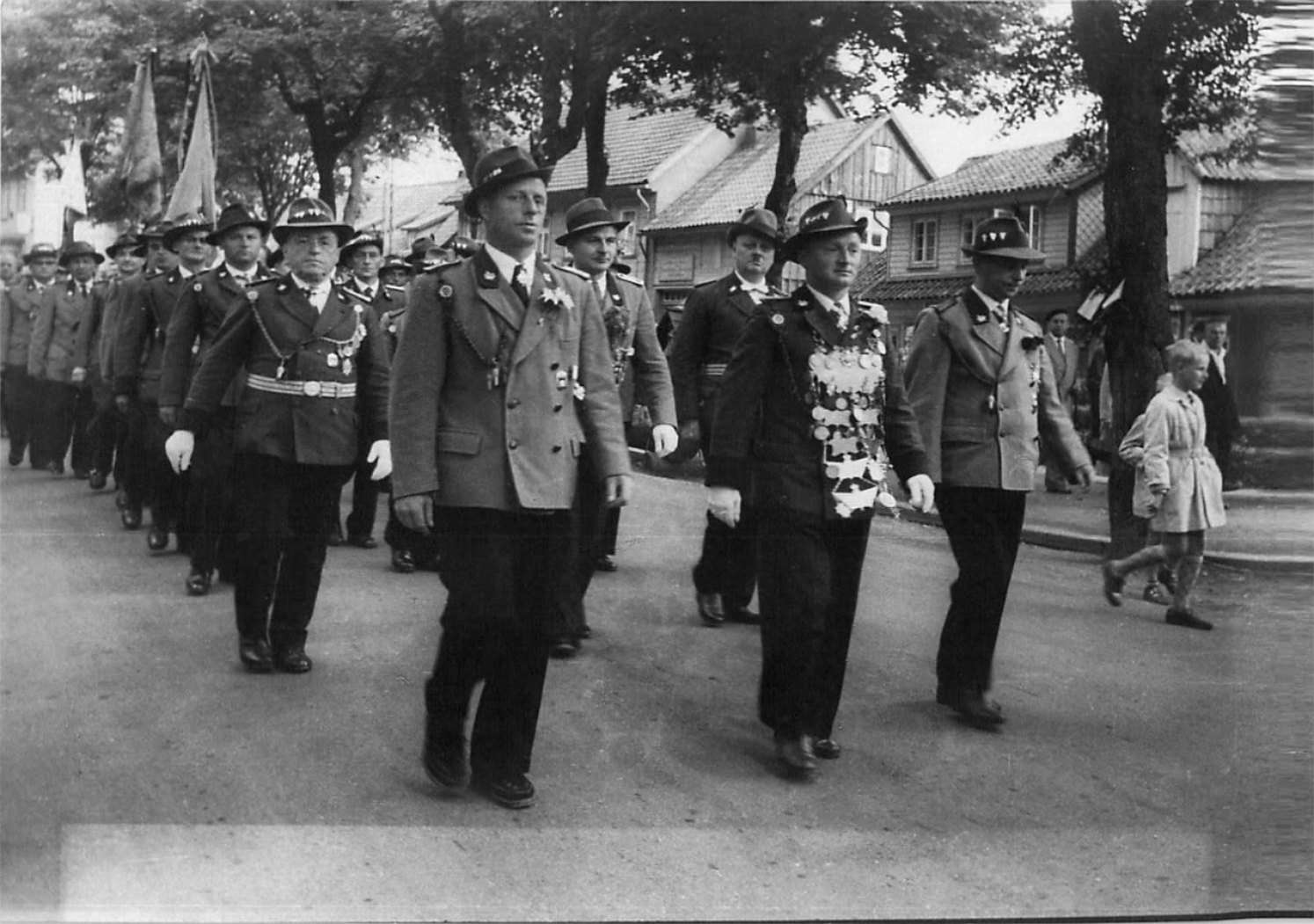 Schützenkönig 1957