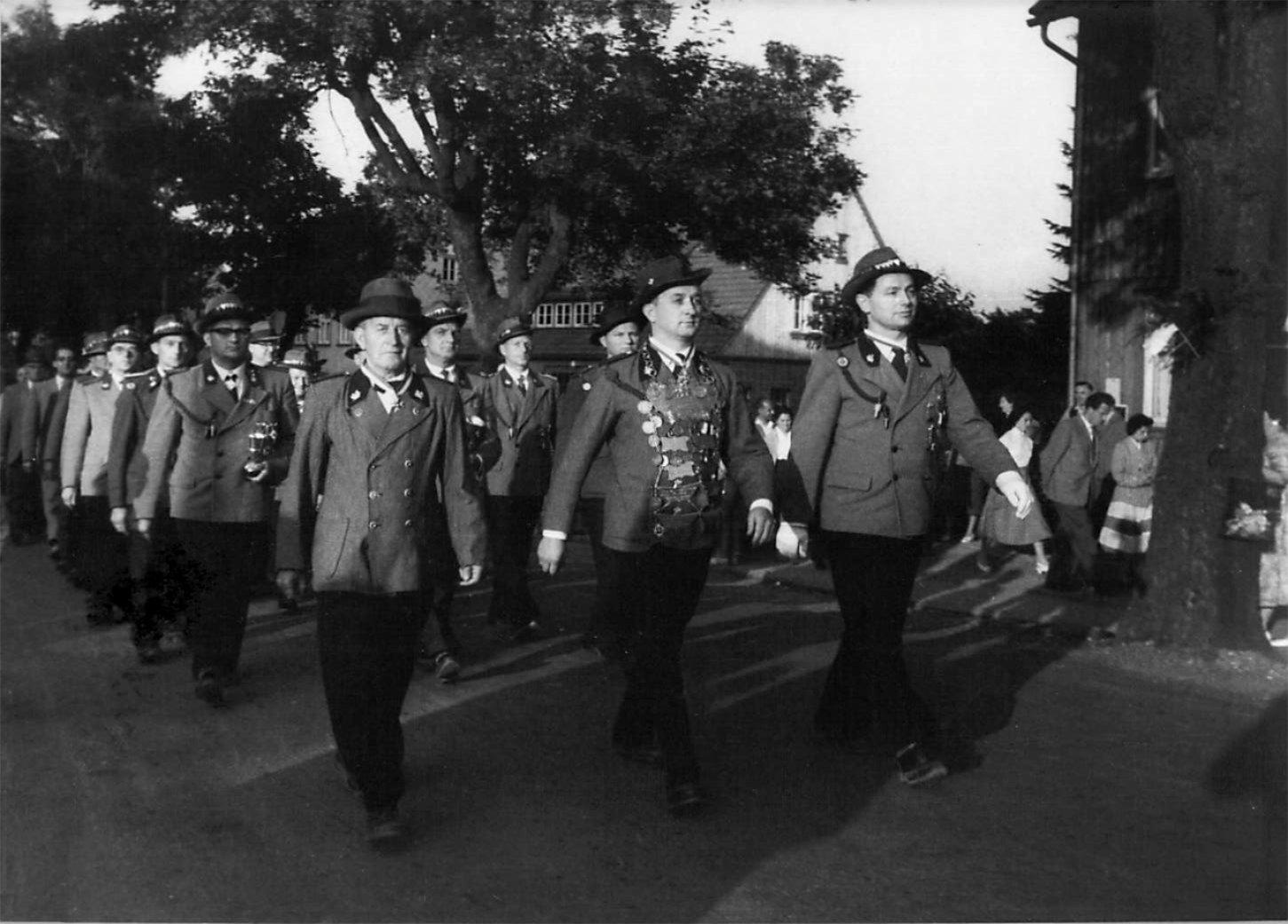 Schützenkönig 1958