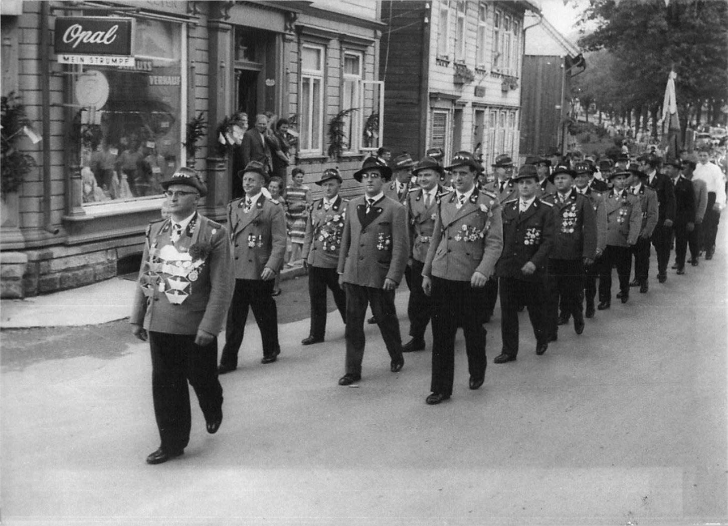 Schützenkönig 1960