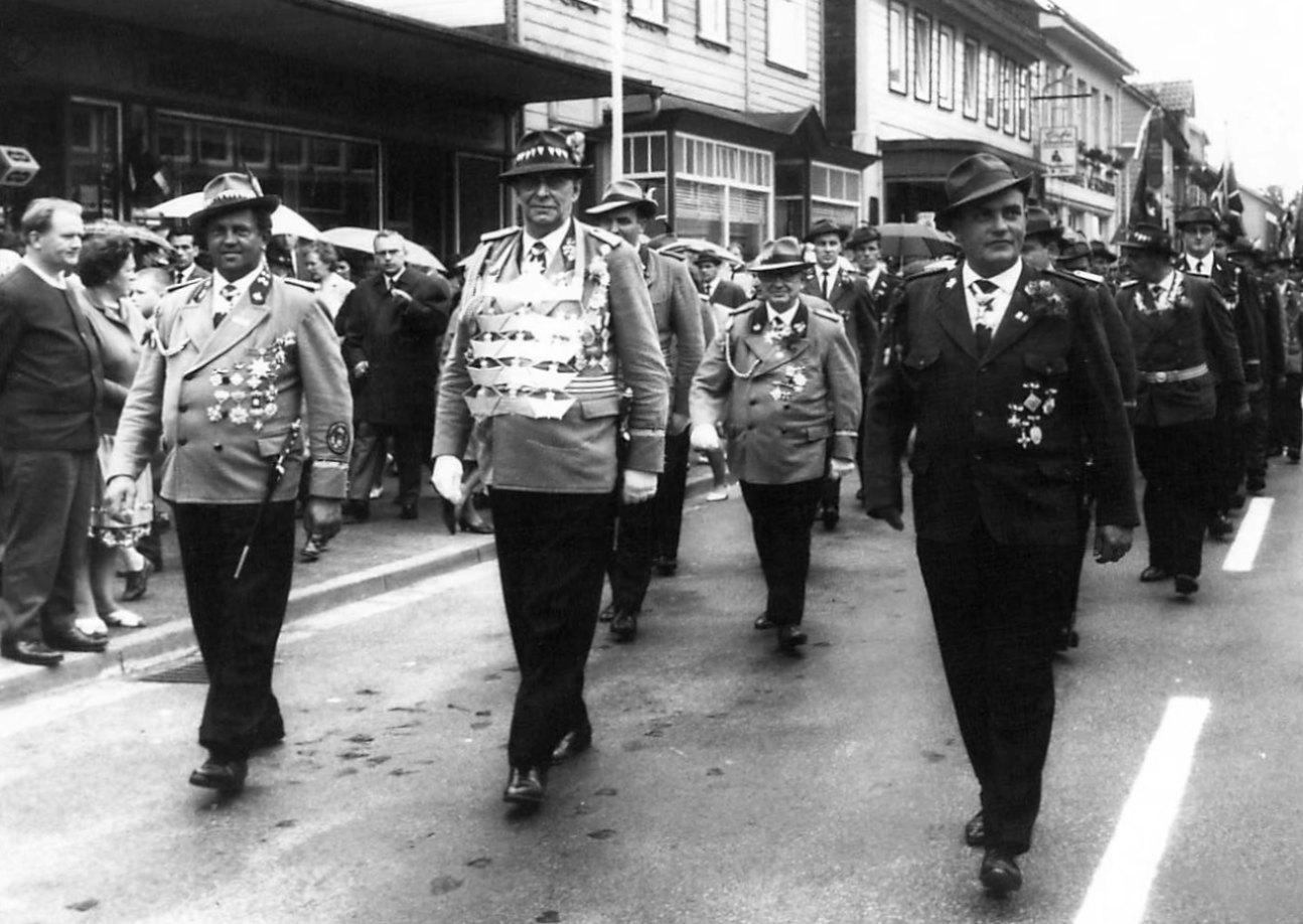 Schützenkönig 1965