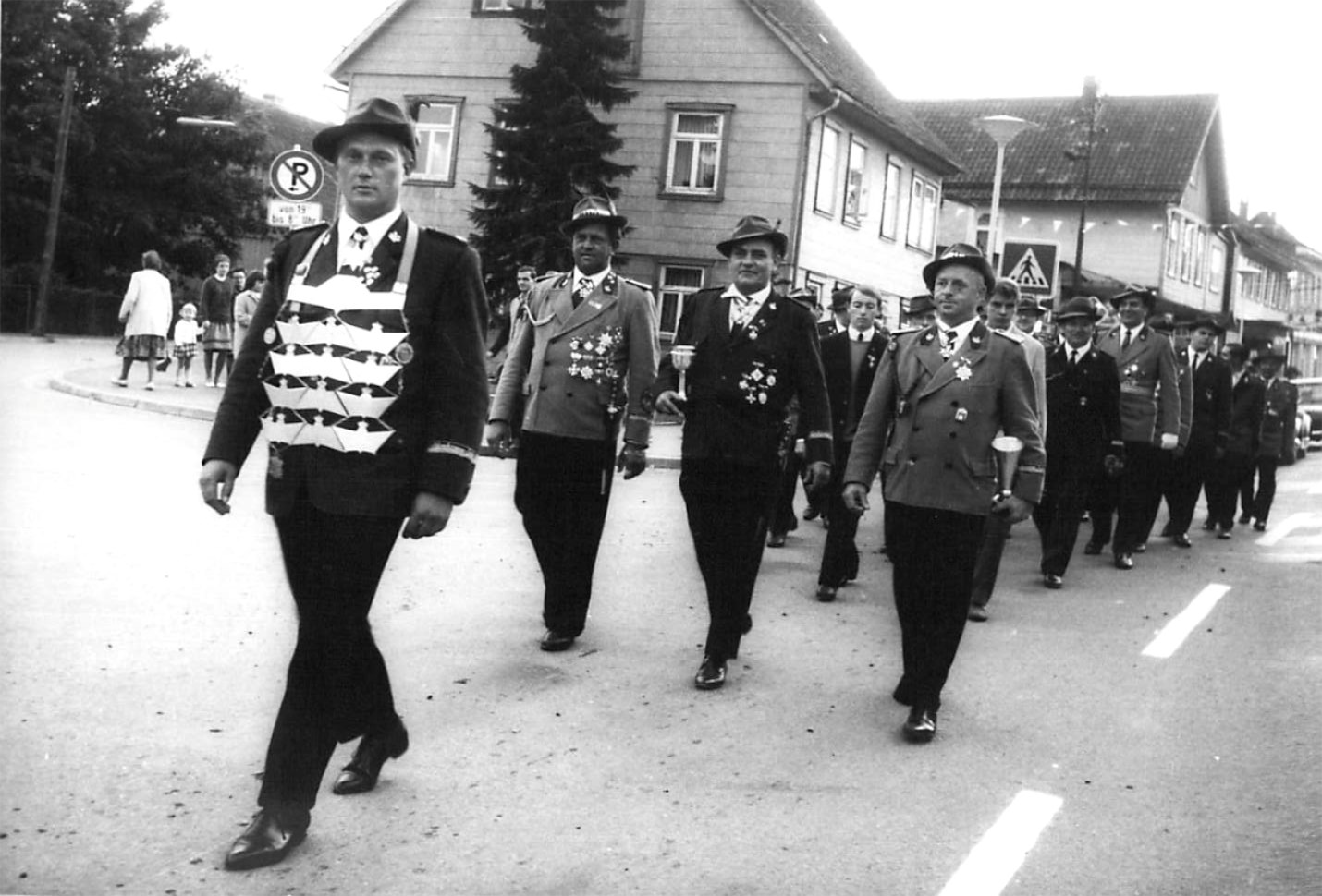 Schützenkönig 1966