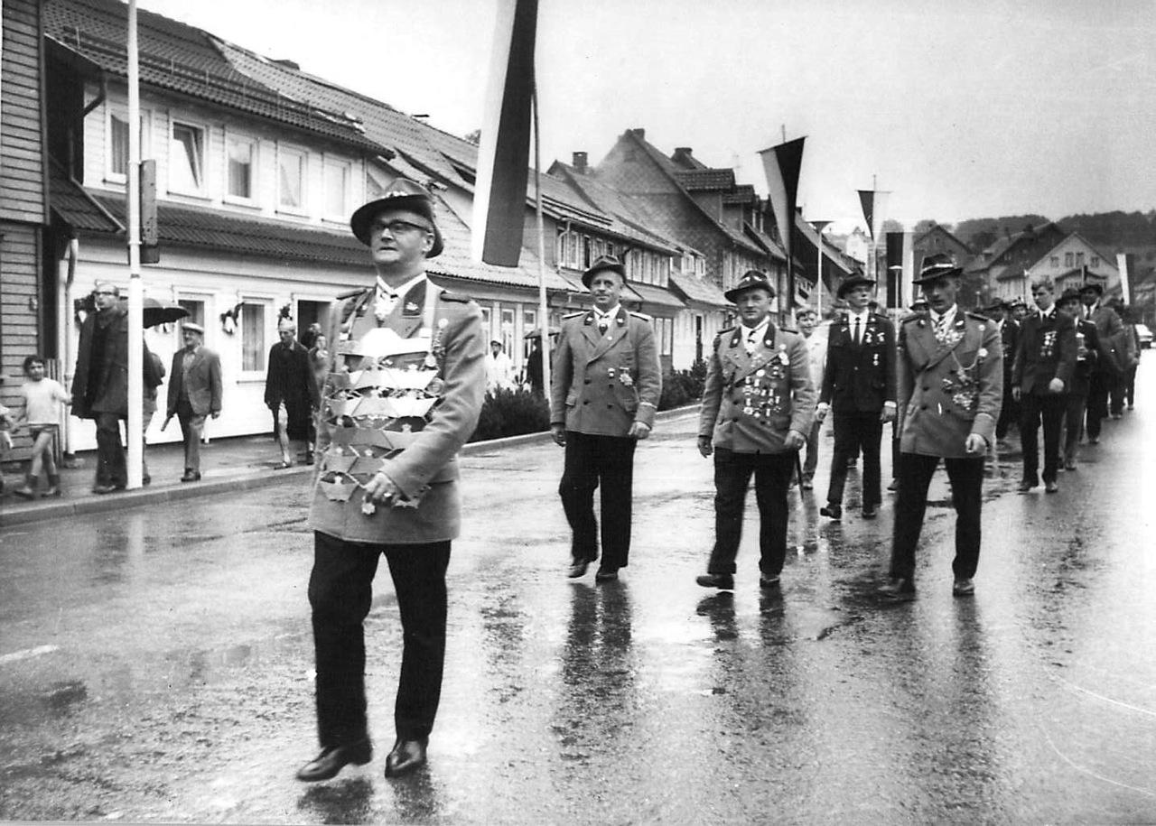 Schützenkönig 1968