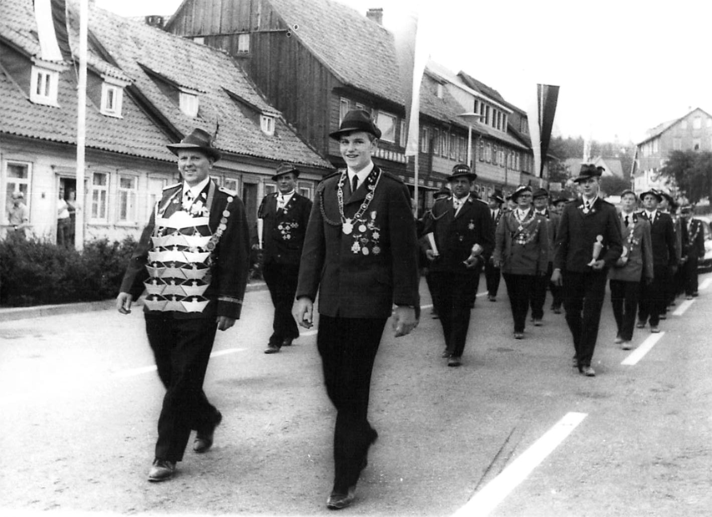 Schützenkönige 1969