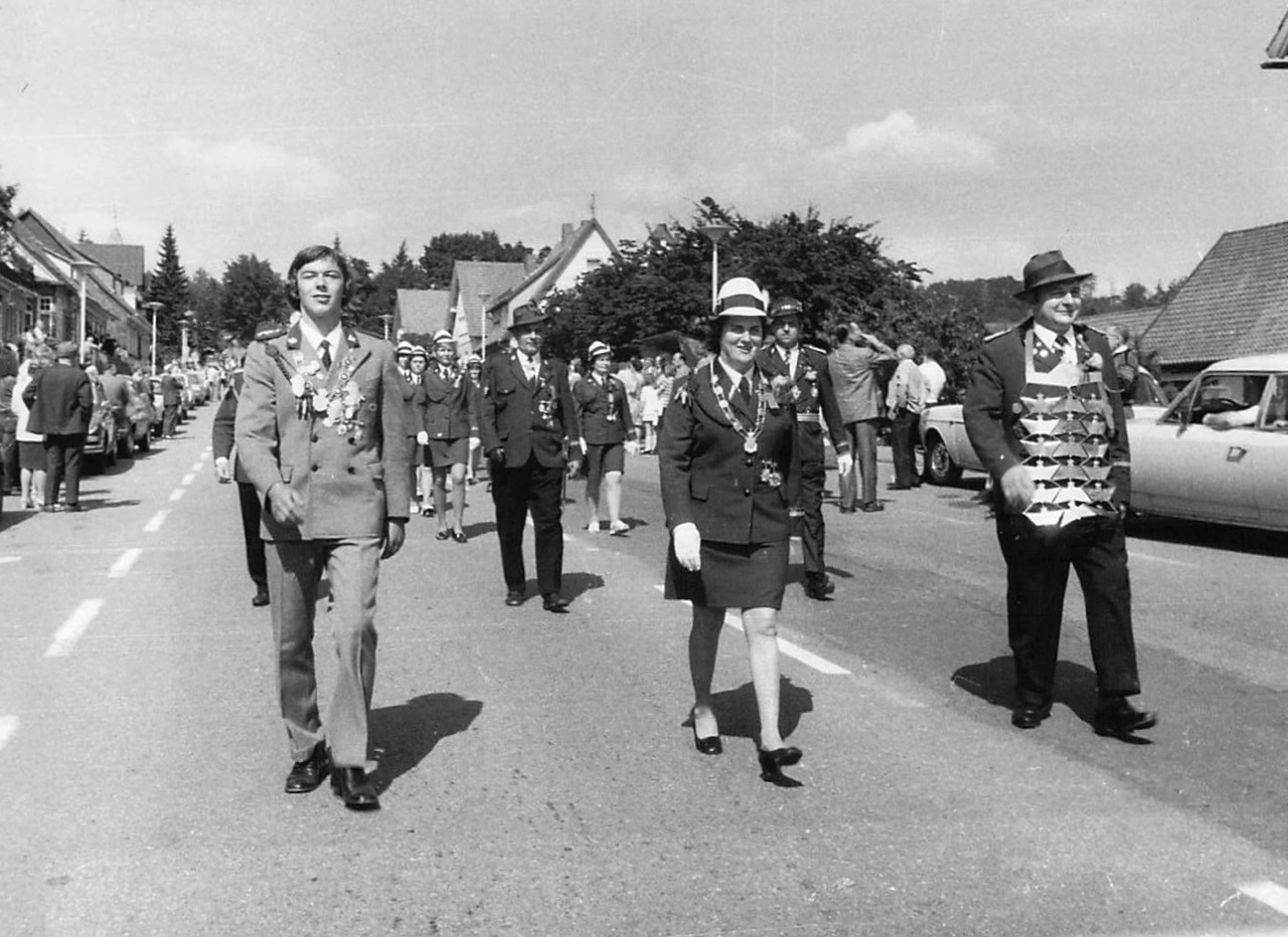Schützenkönige 1971