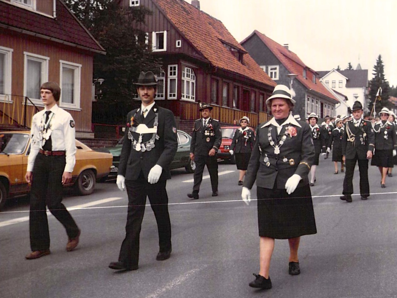 Schützenkönige 1978
