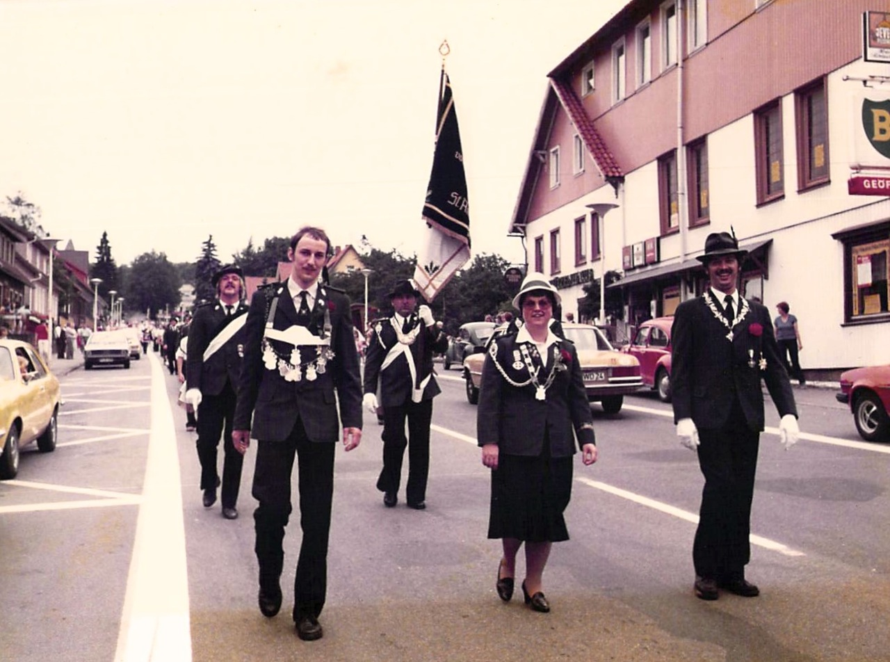 Schützenkönige 1979