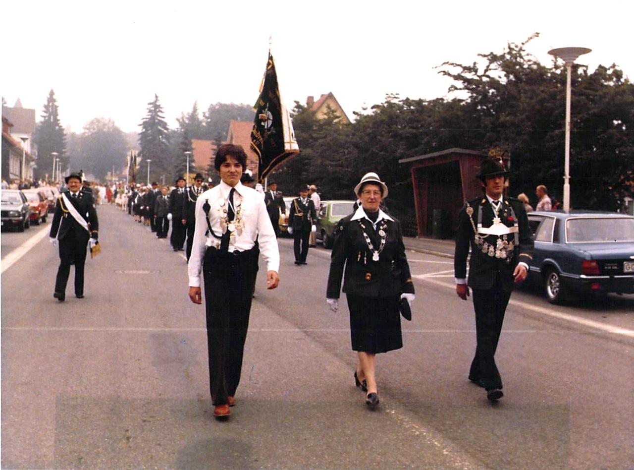 Schützenkönige 1980