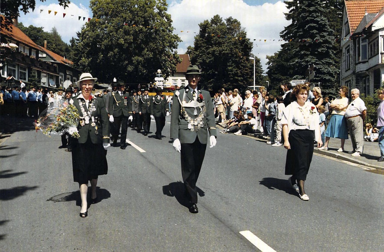 Schützenkönige 1988