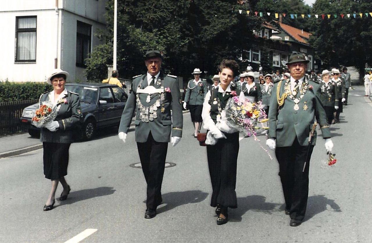 Schützenkönige 1990