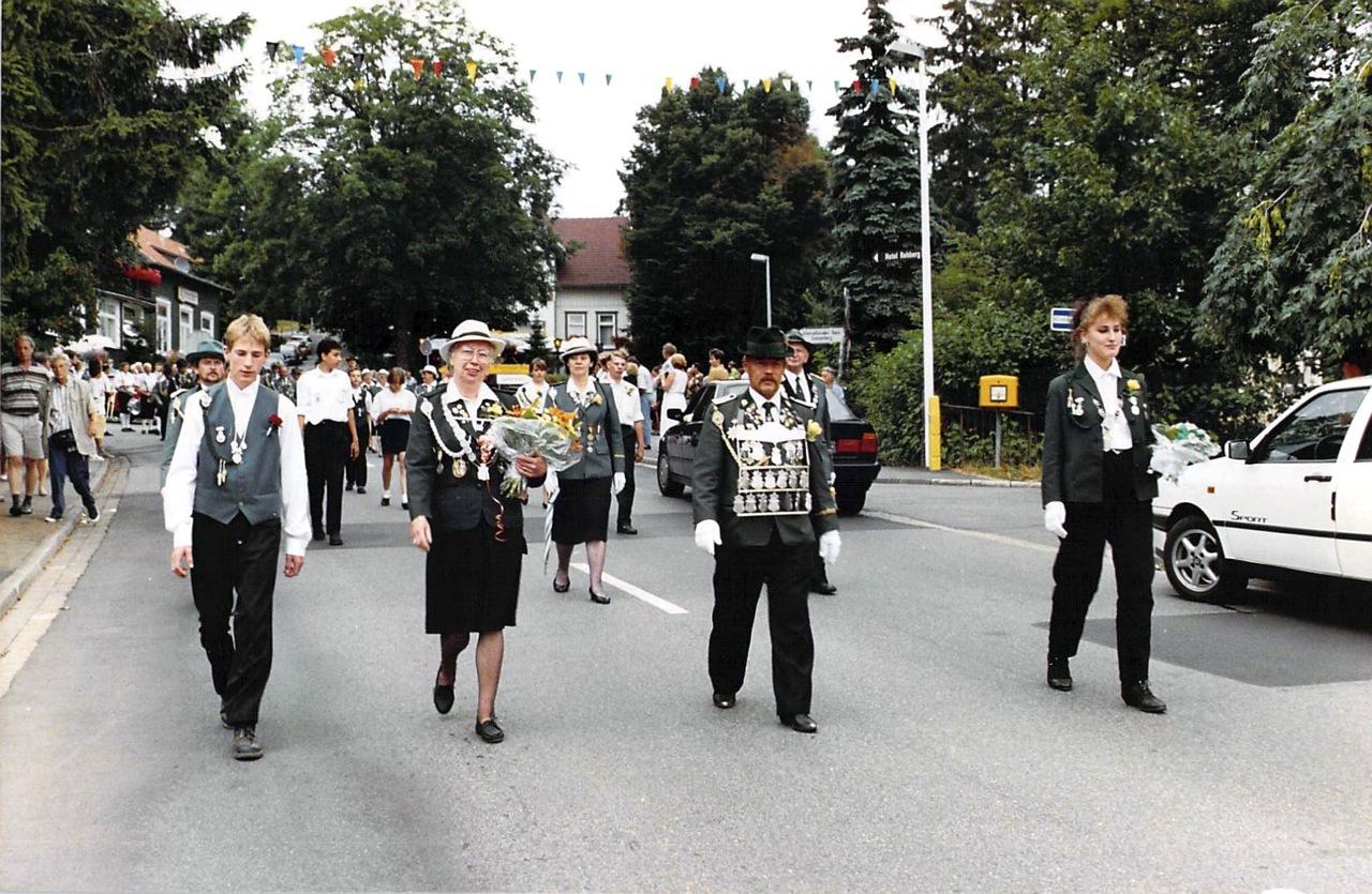 Schützenkönige 1993