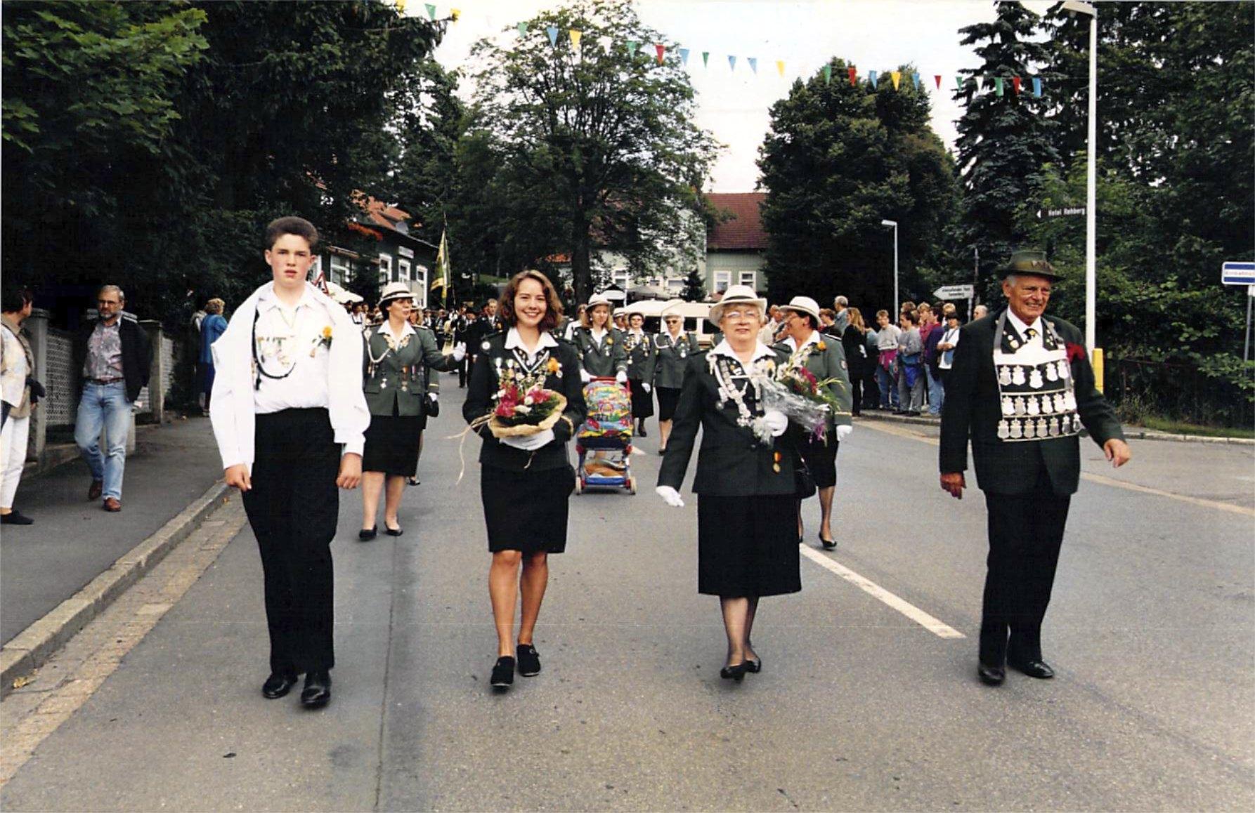 Schützenkönige 1995