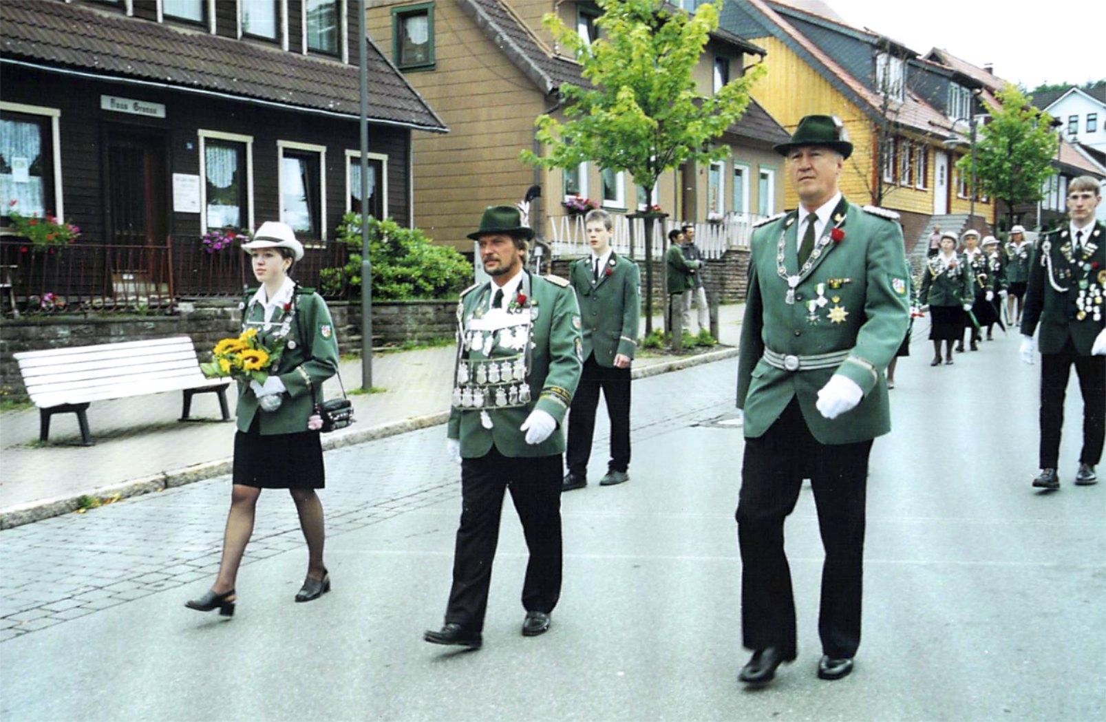 Schützenkönige 1997