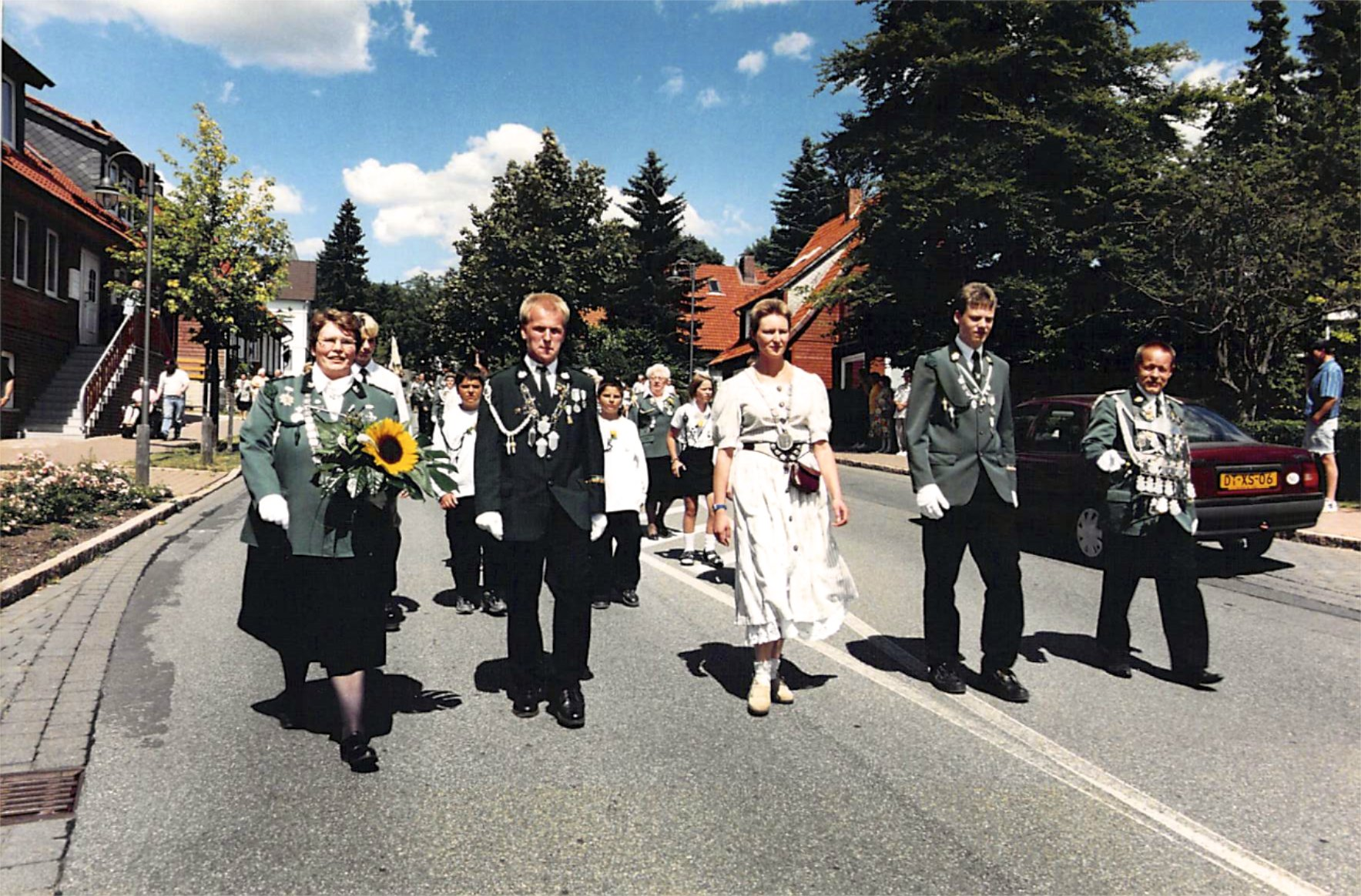 Schützenkönige 1998