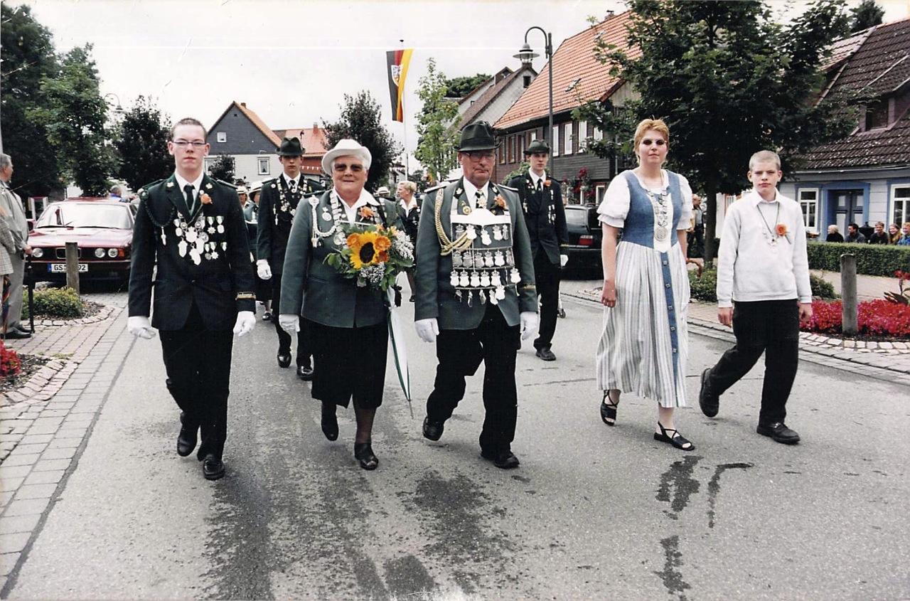 Schützenkönige 2000