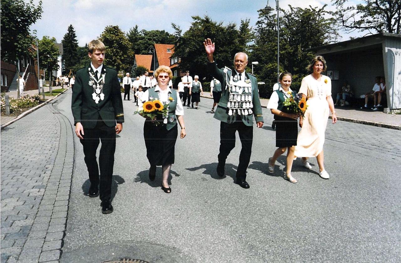 Schützenkönige 2002