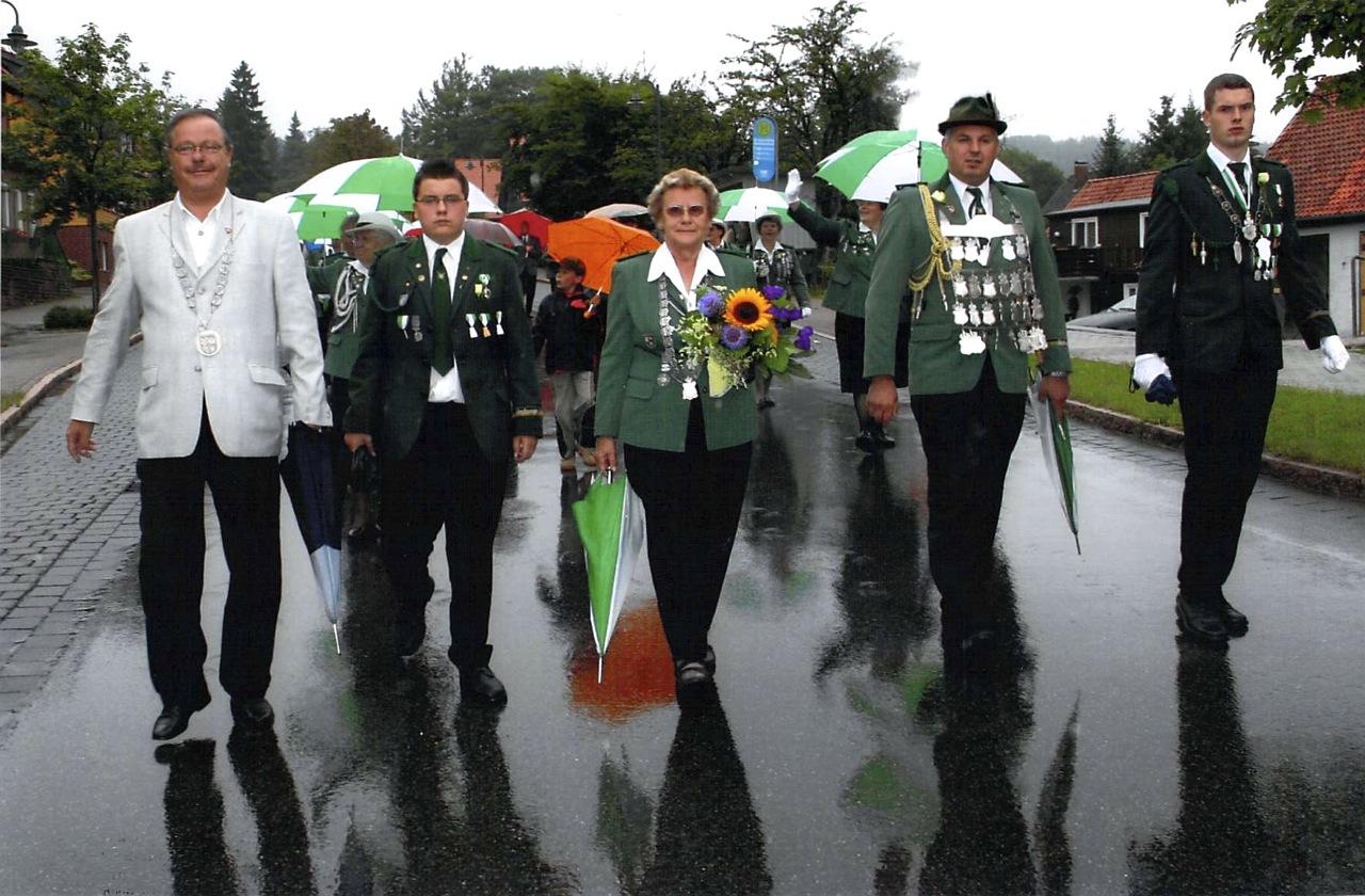 Schützenkönige 2005