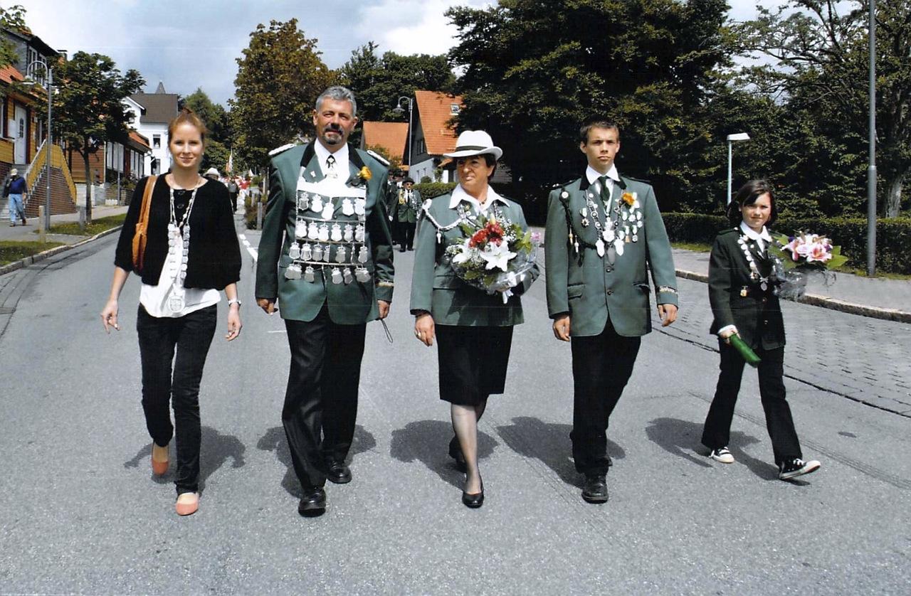 Schützenkönige 2007