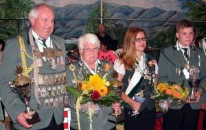 Schützenkönige 2014