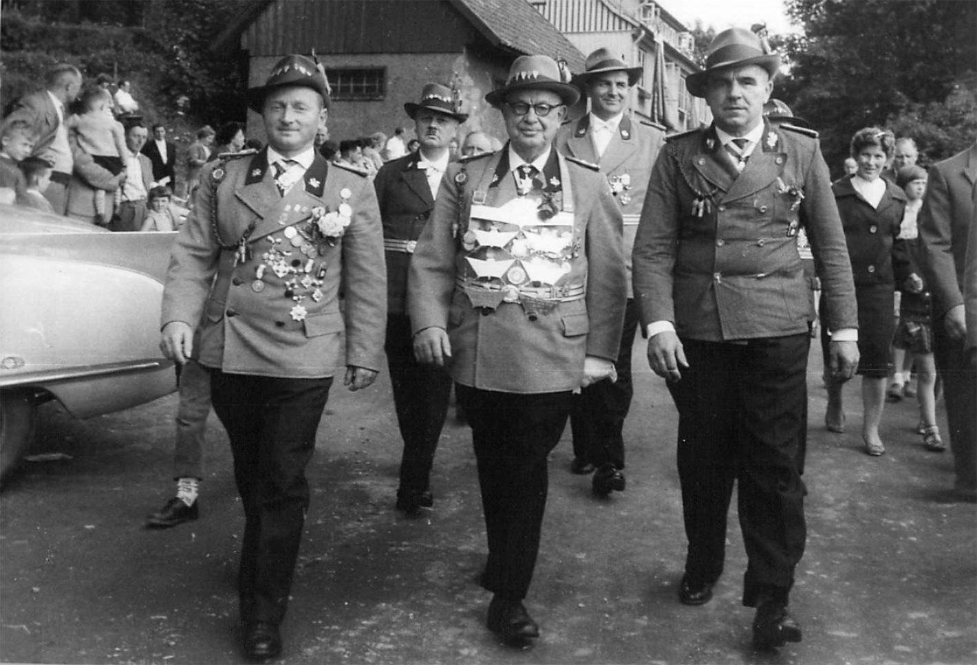 Schützenkönig 1959
