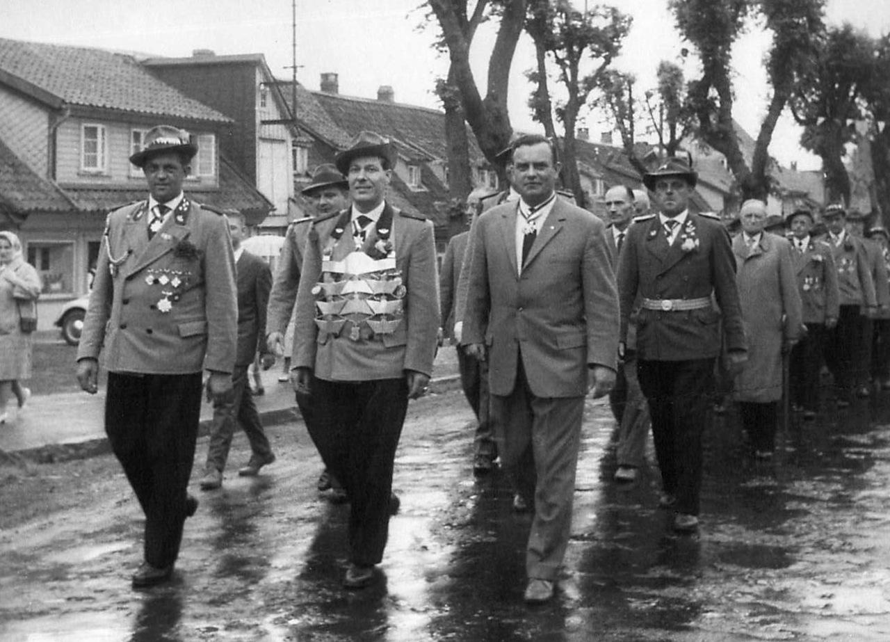 Schützenkönig 1961