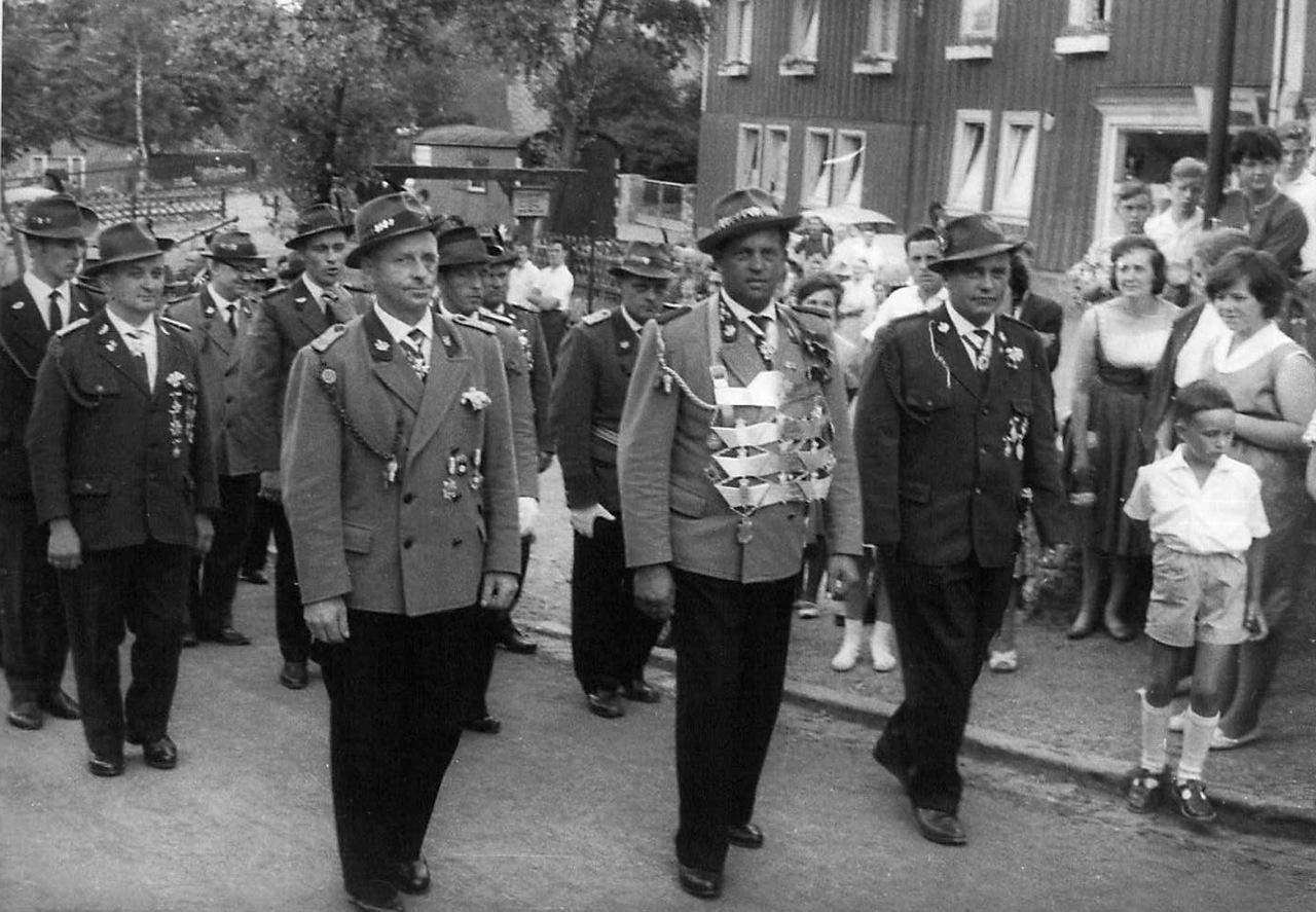 Schützenkönig 1962