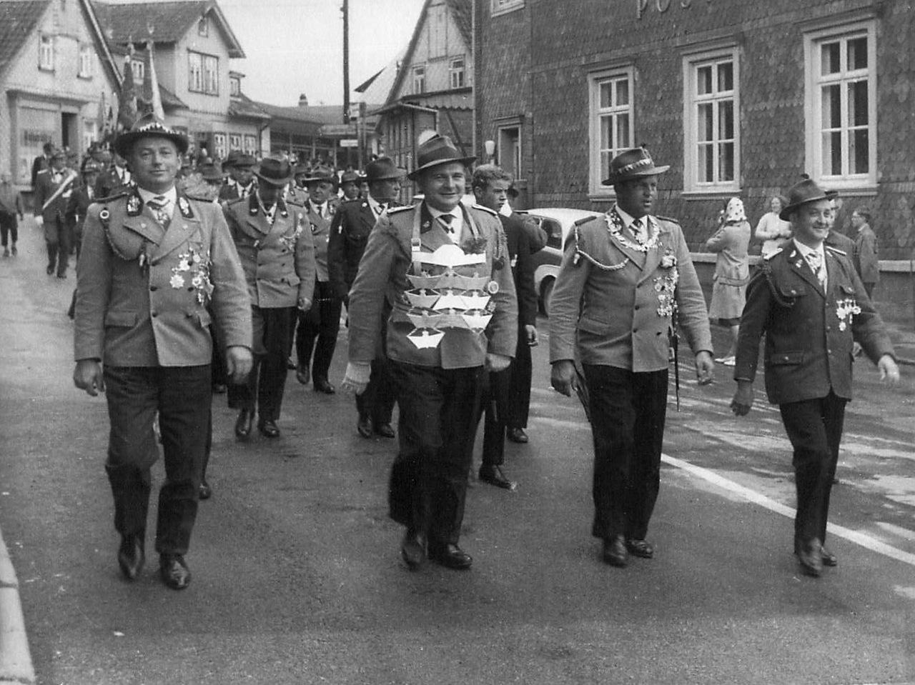 Schützenkönig 1963