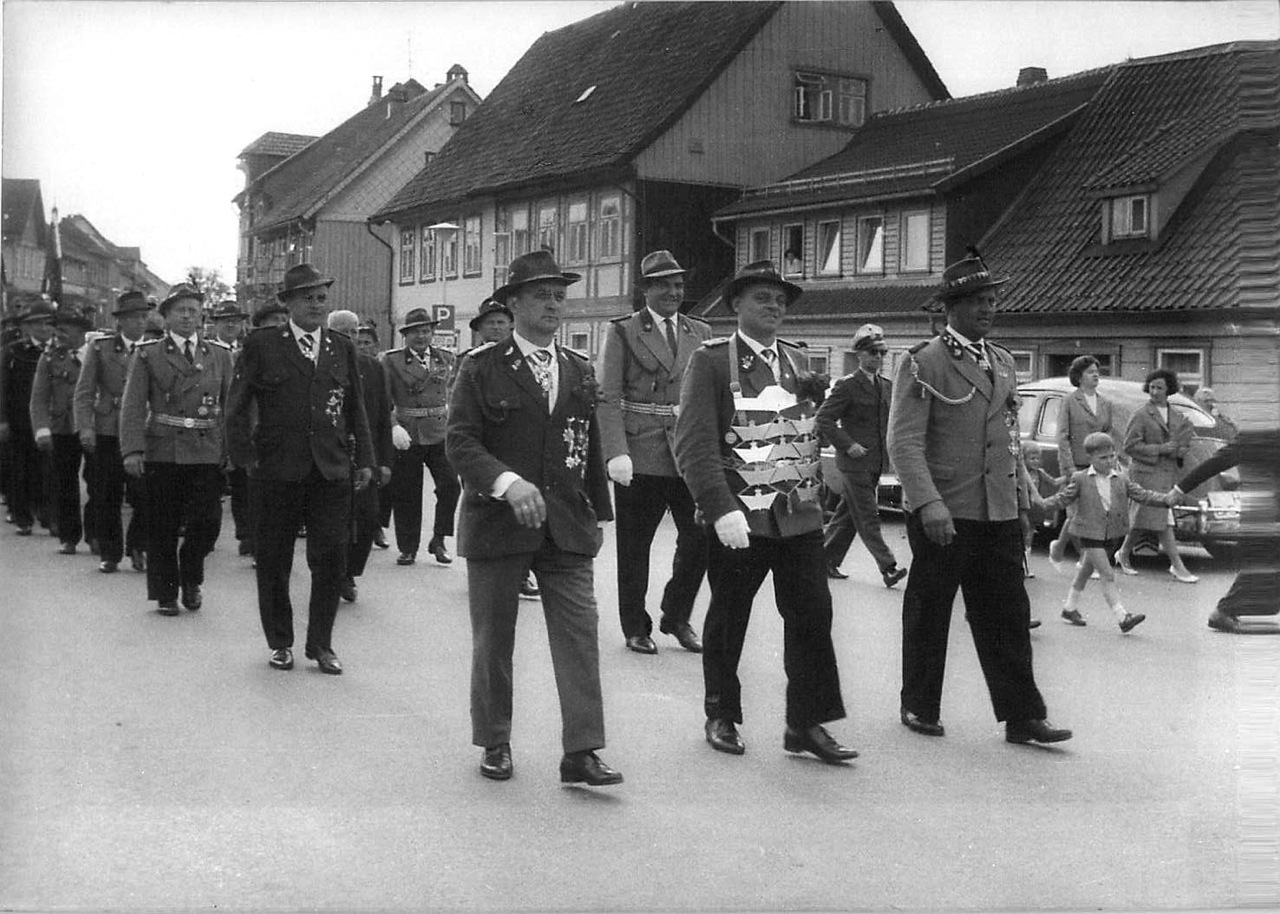 Schützenkönig 1964