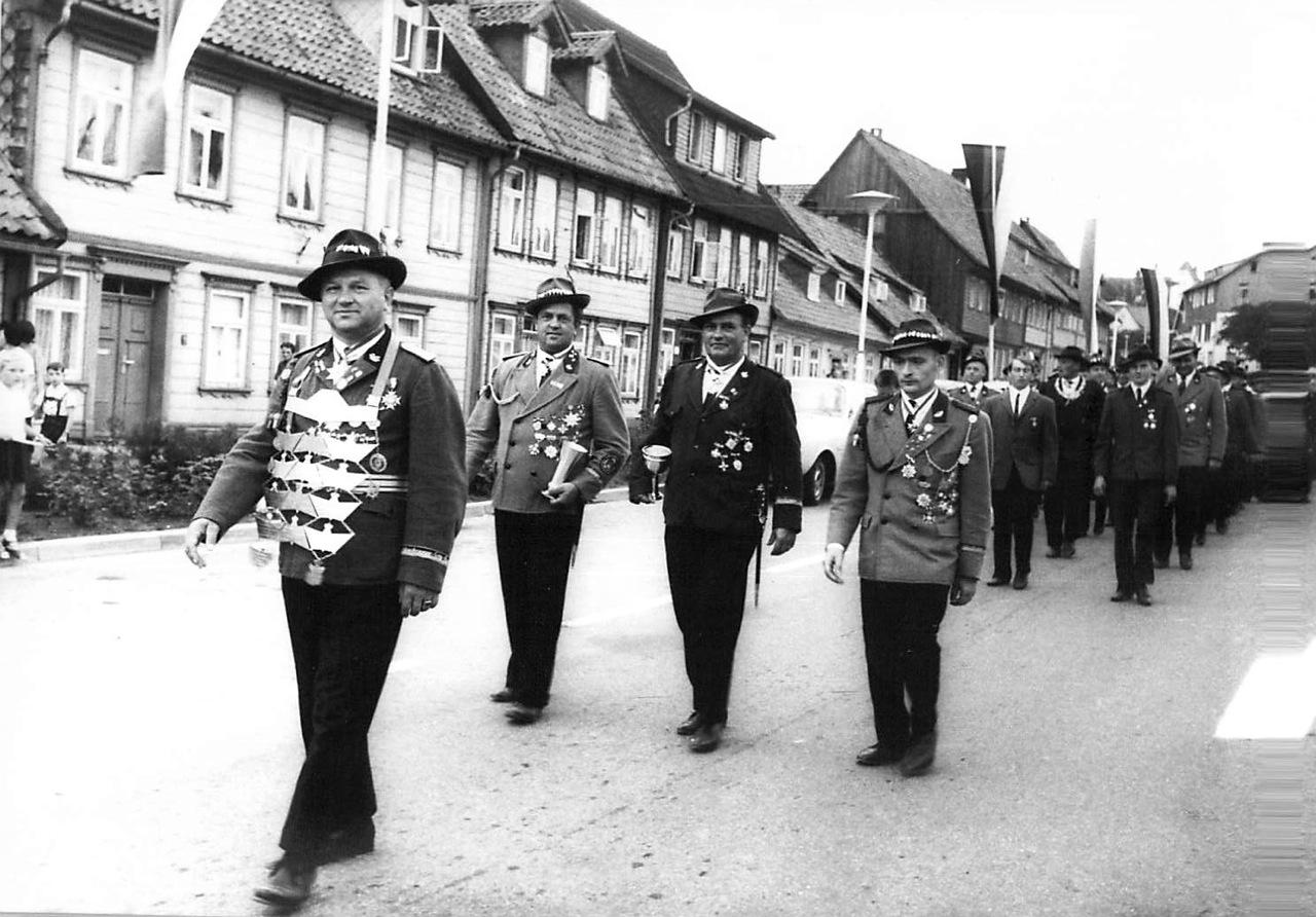 Schützenkönig 1967