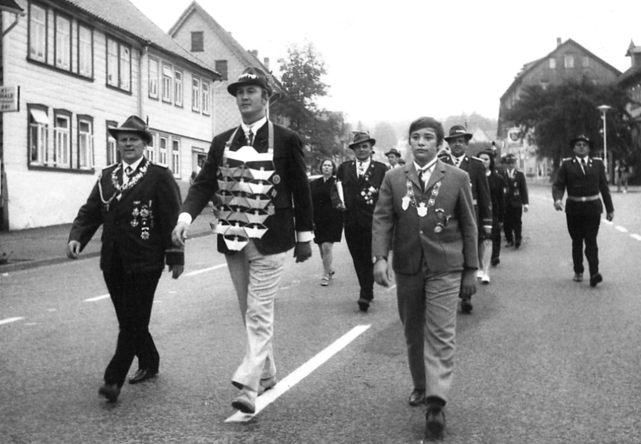 Schützenkönige 1970