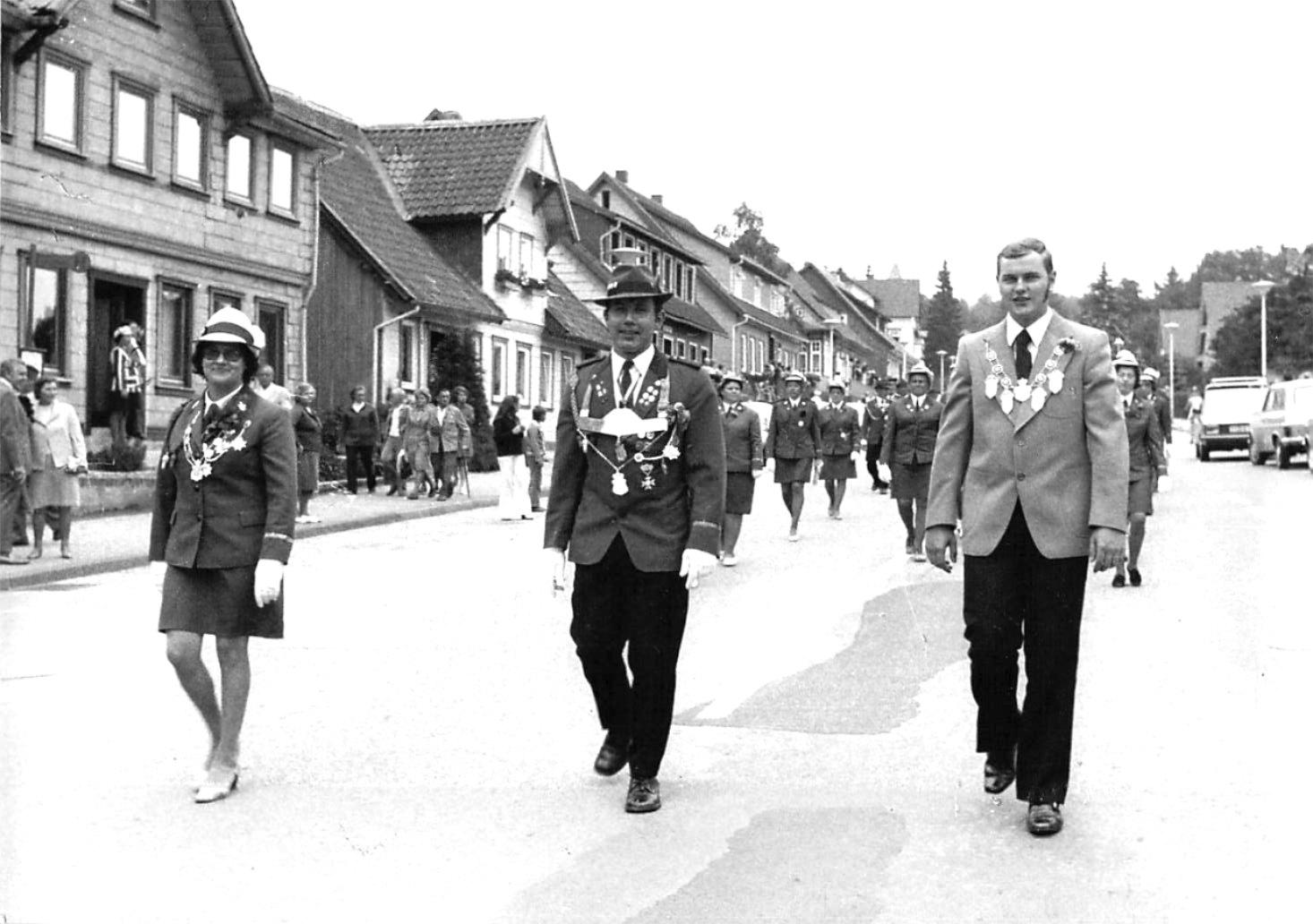 Schützenkönige 1972