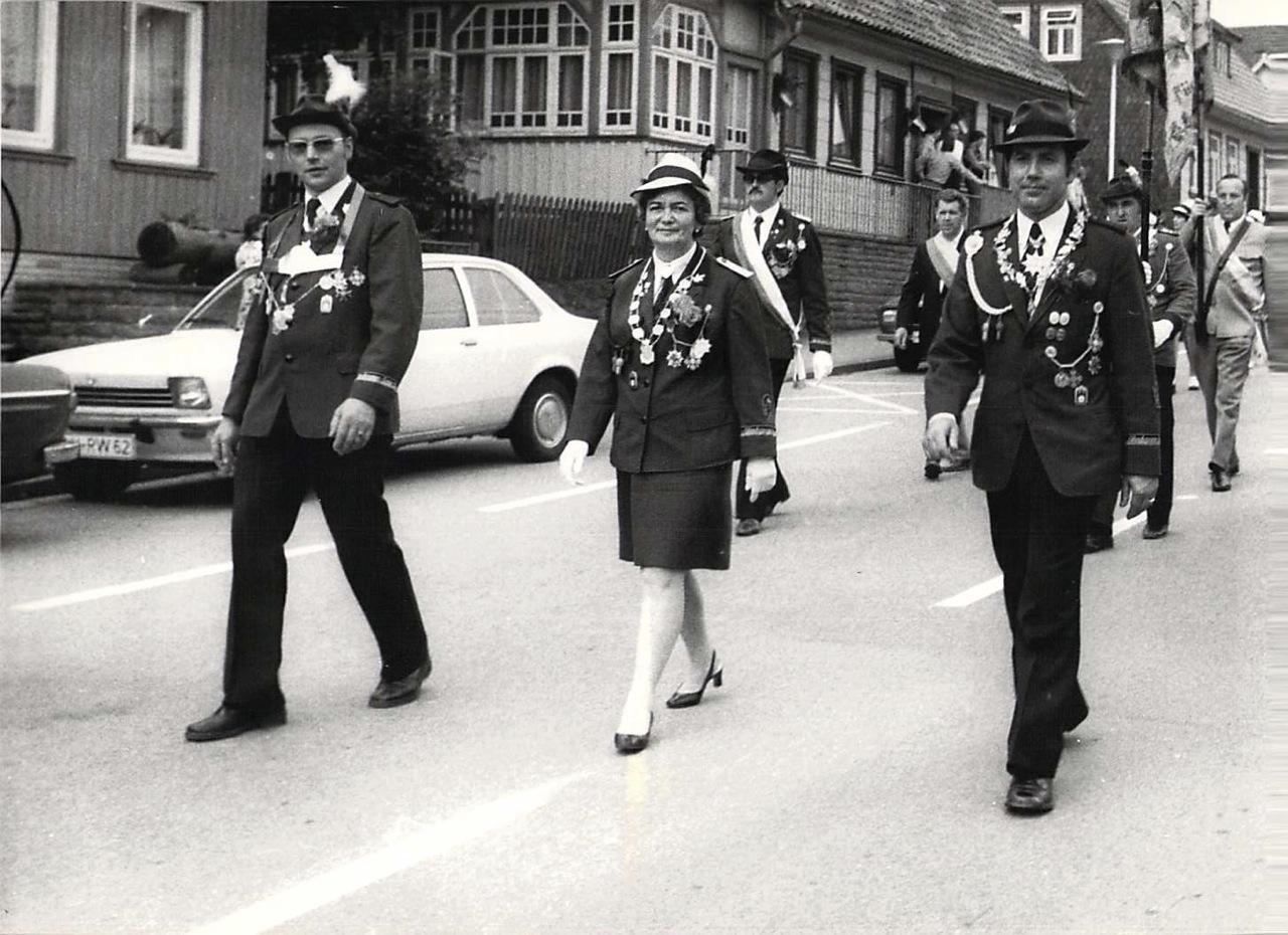 Schützenkönige 1973