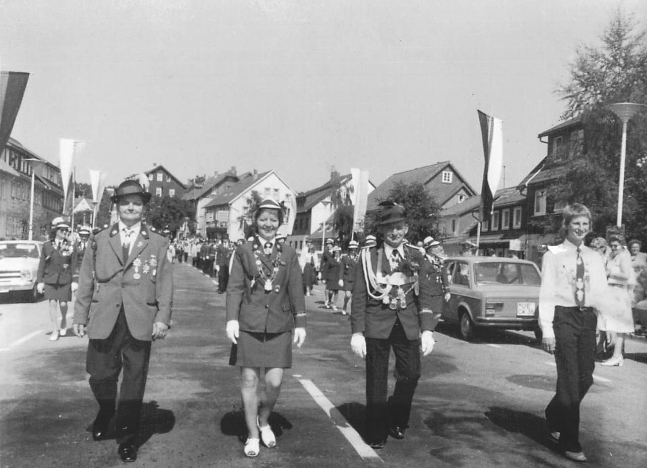 Schützenkönige 1974