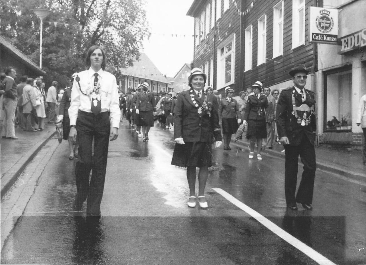Schützenkönige 1975