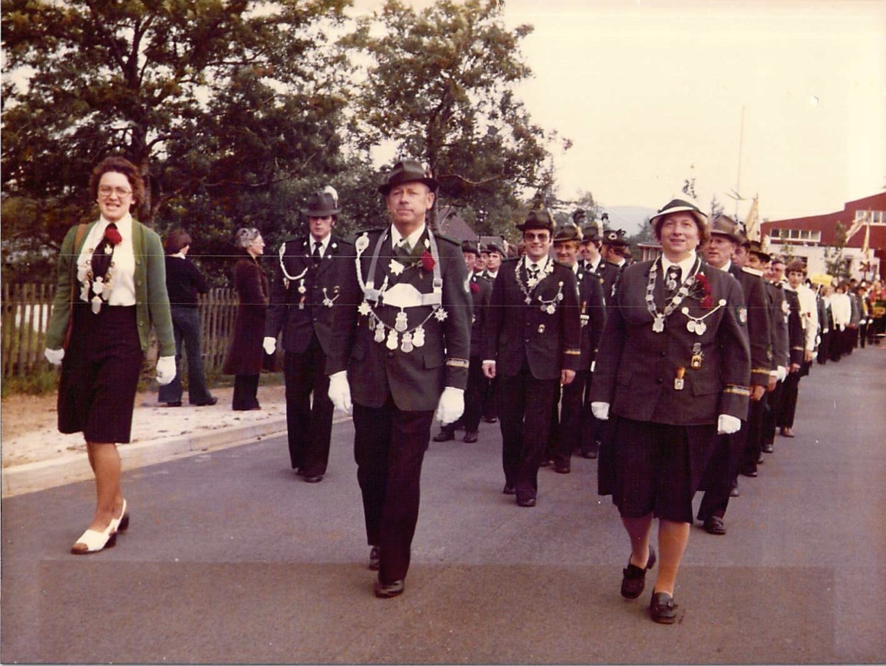 Schützenkönige 1976