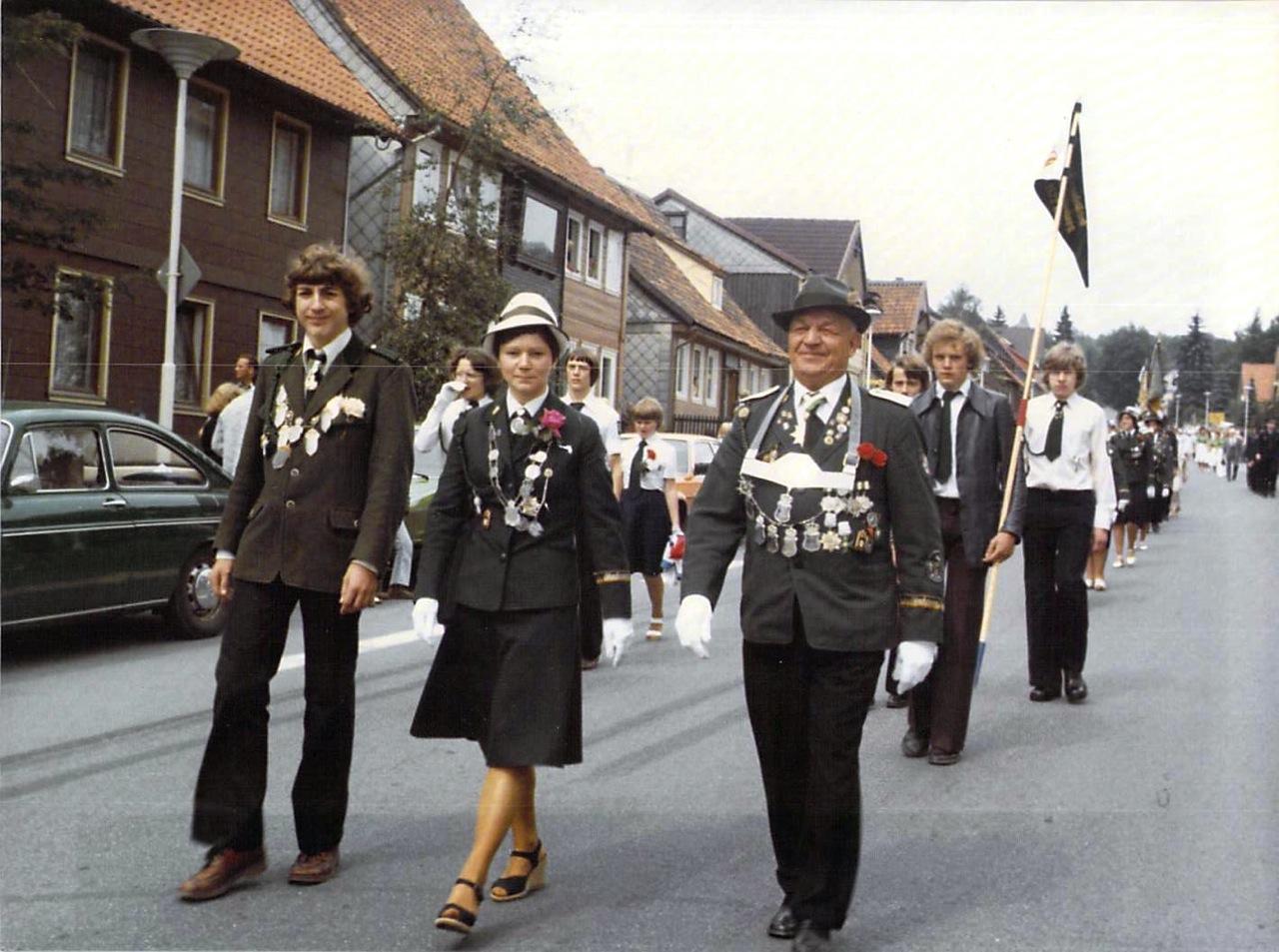 Schützenkönige 1977