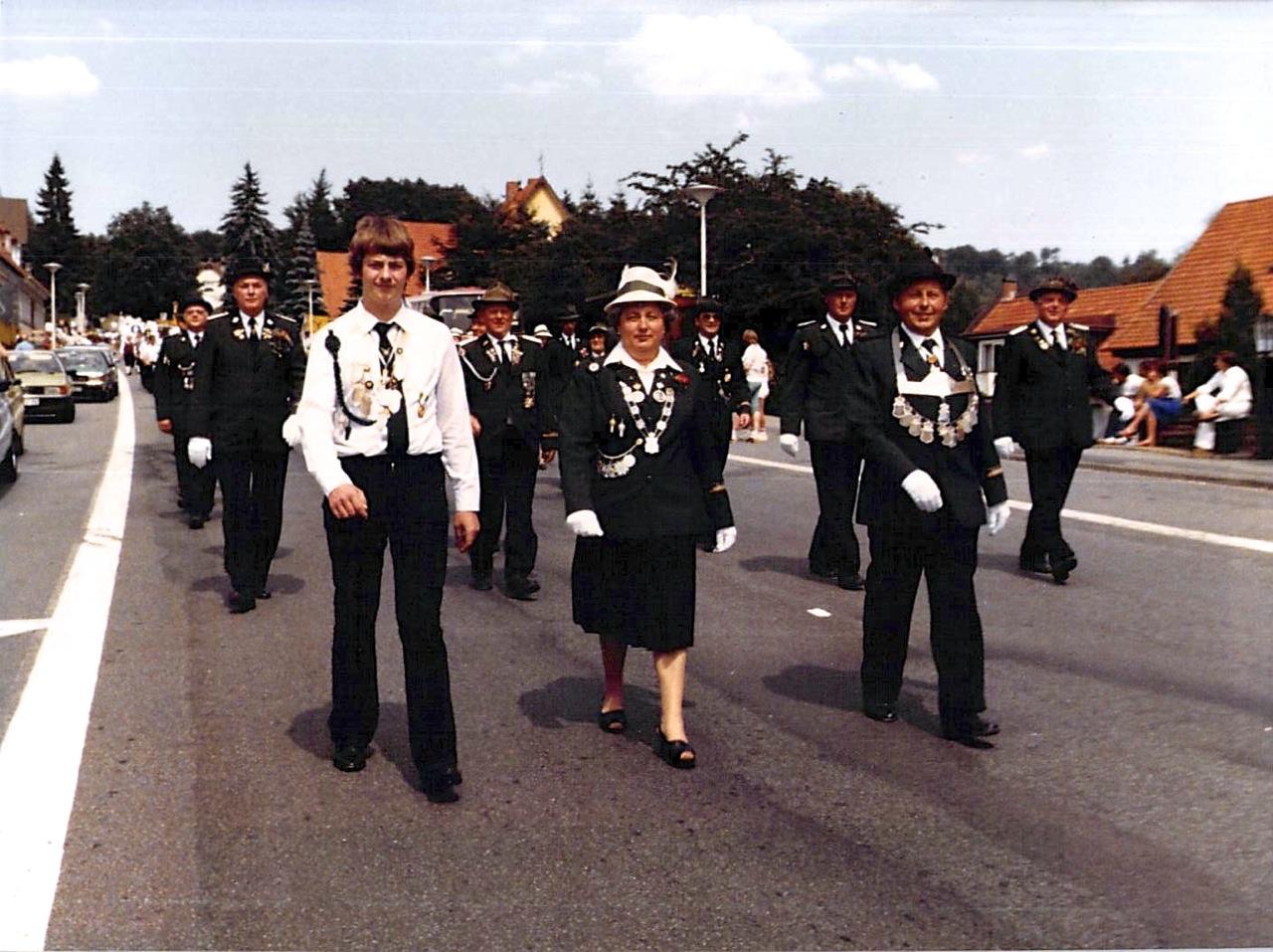 Schützenkönige 1981