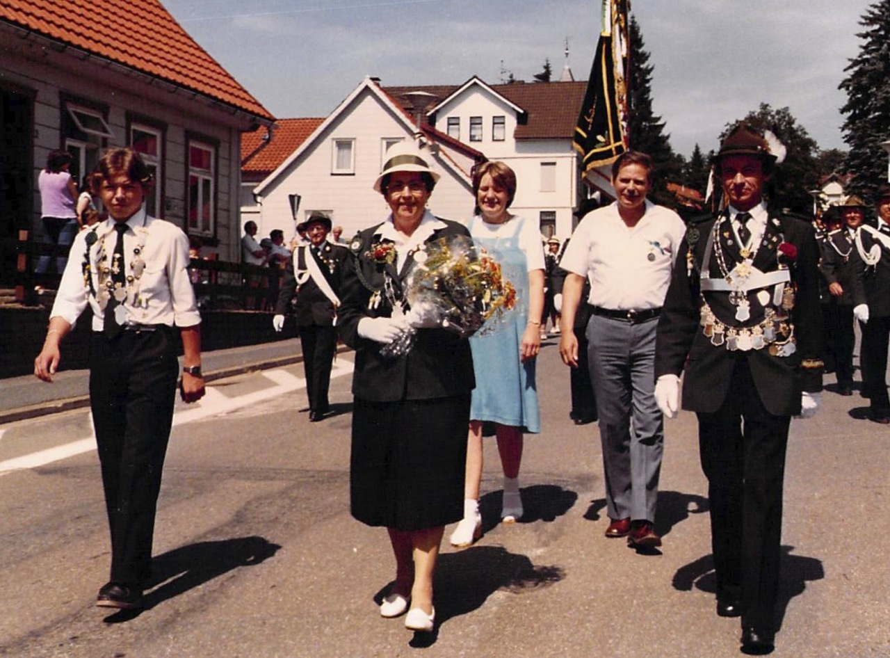 Schützenkönige 1982
