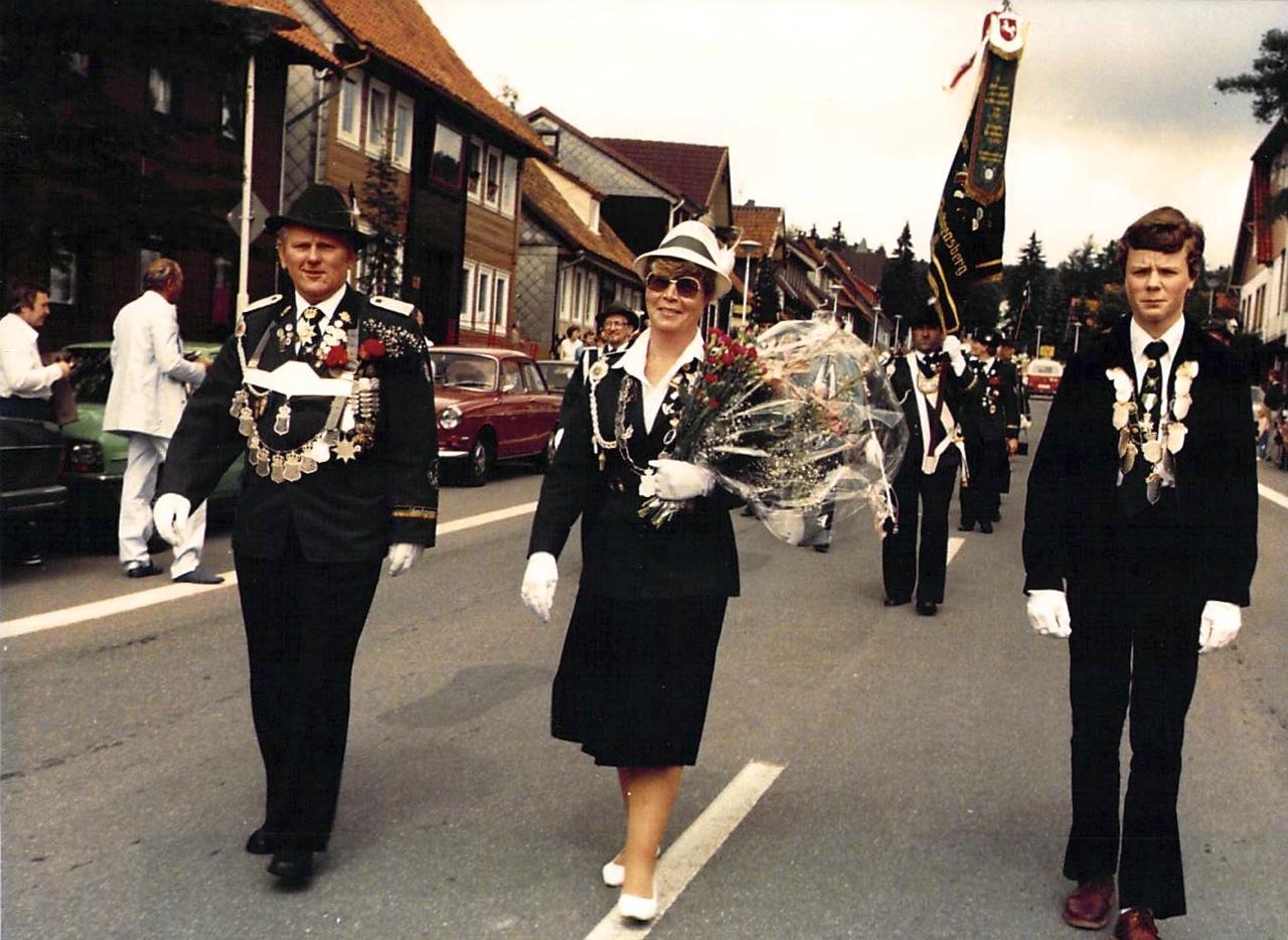 Schützenkönige 1983