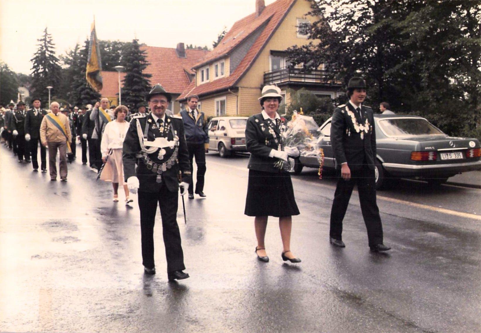 Schützenkönige 1984