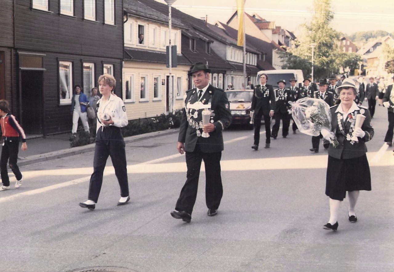 Schützenkönige 1985