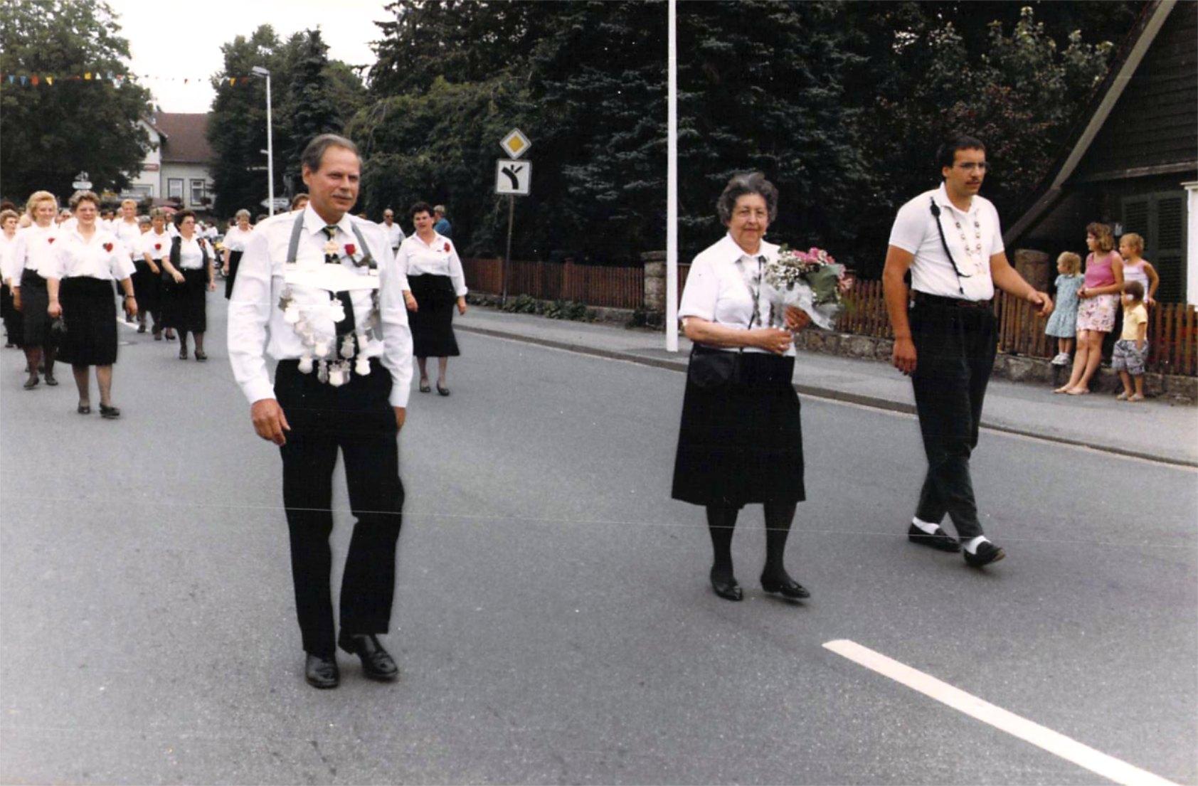 Schützenkönige 1989