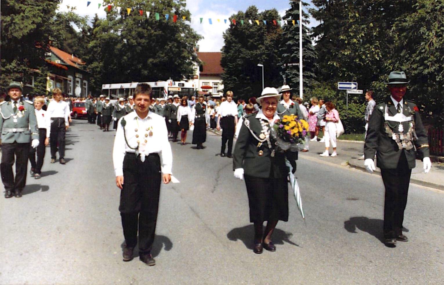 Schützenkönige 1991