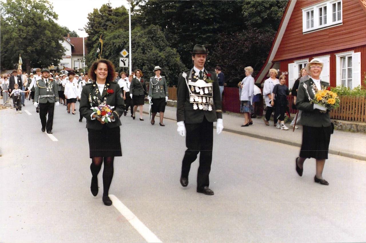 Schützenkönige 1992