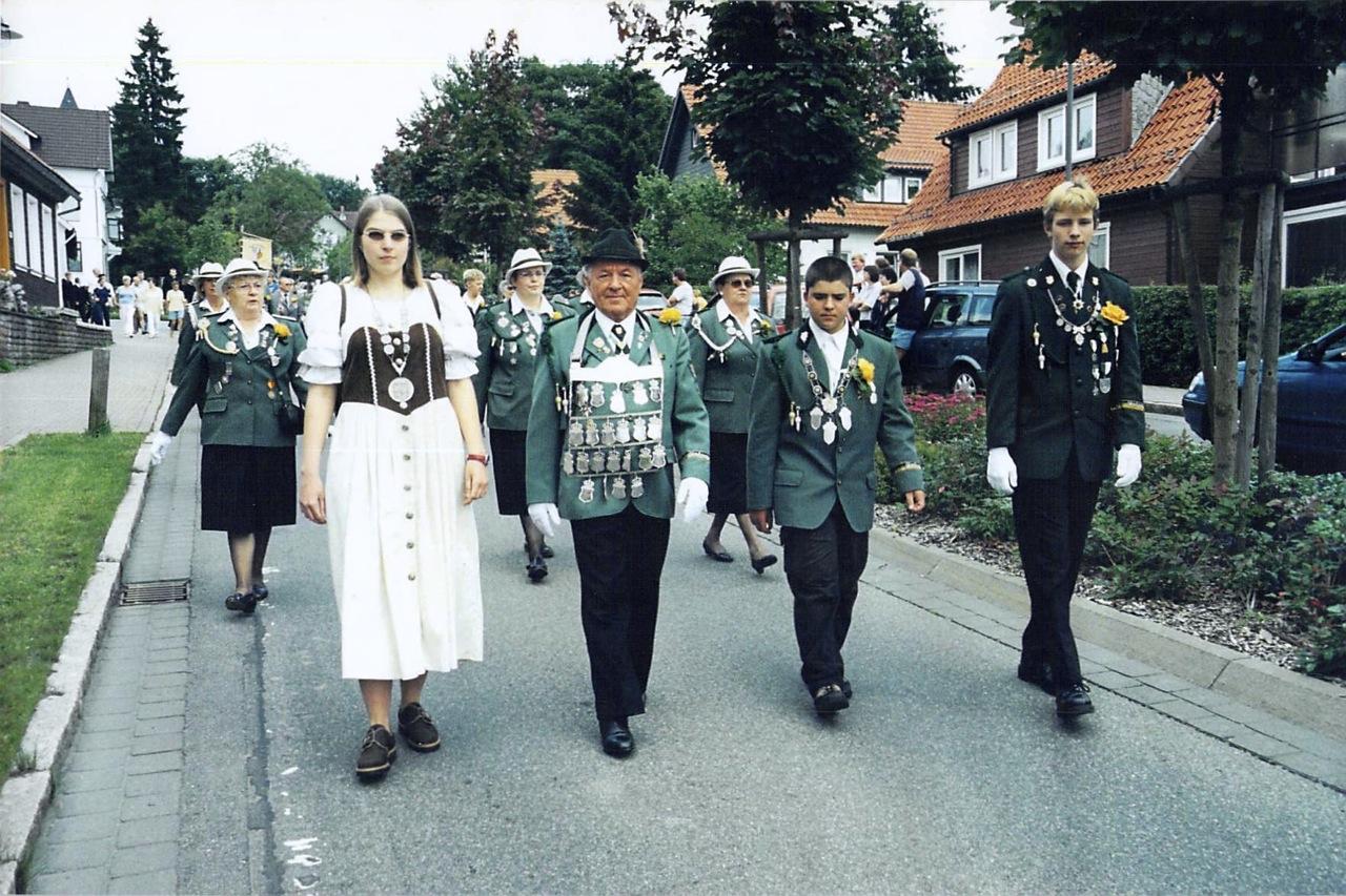 Schützenkönige 1999