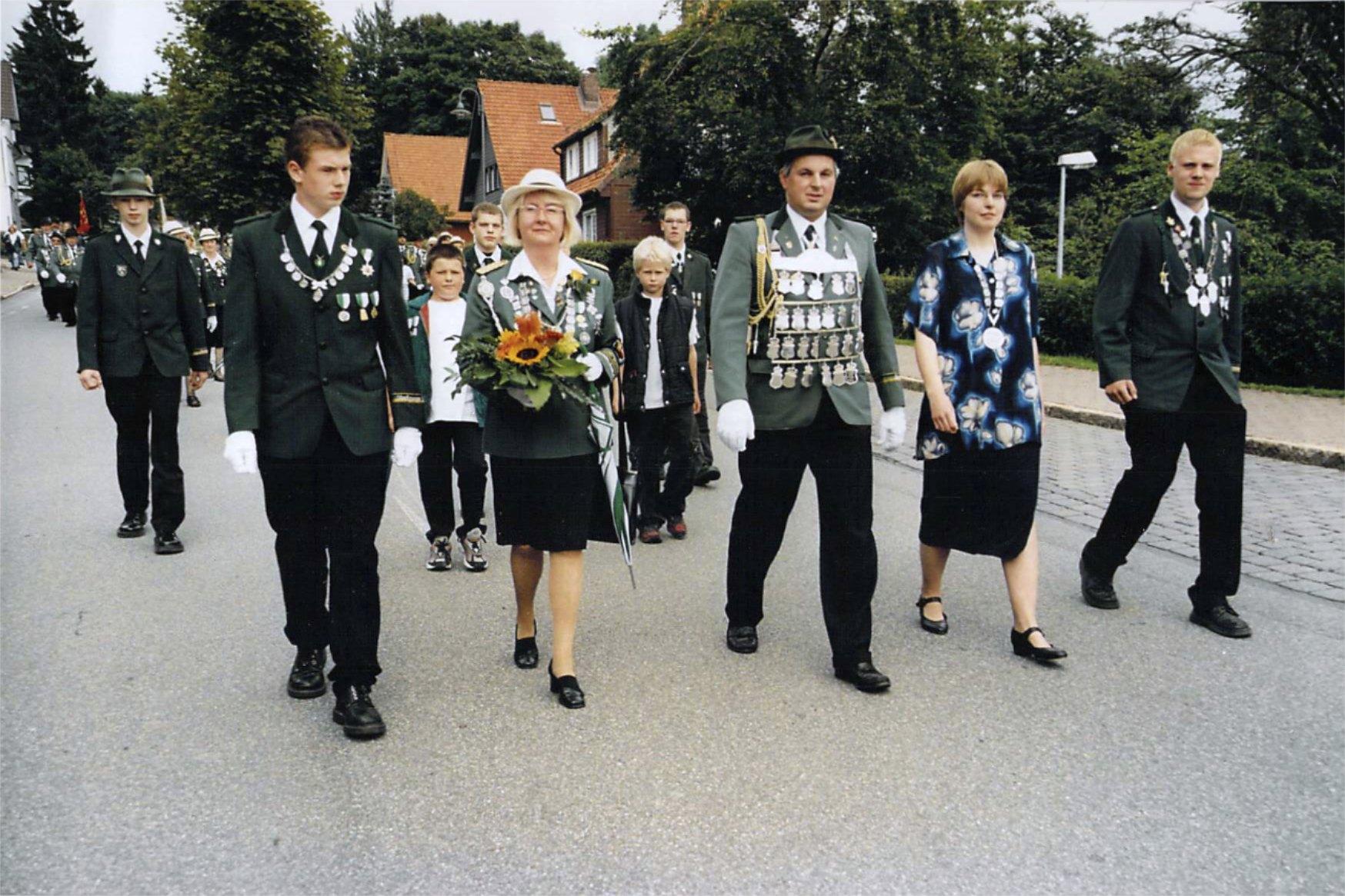 Schützenkönige 2001