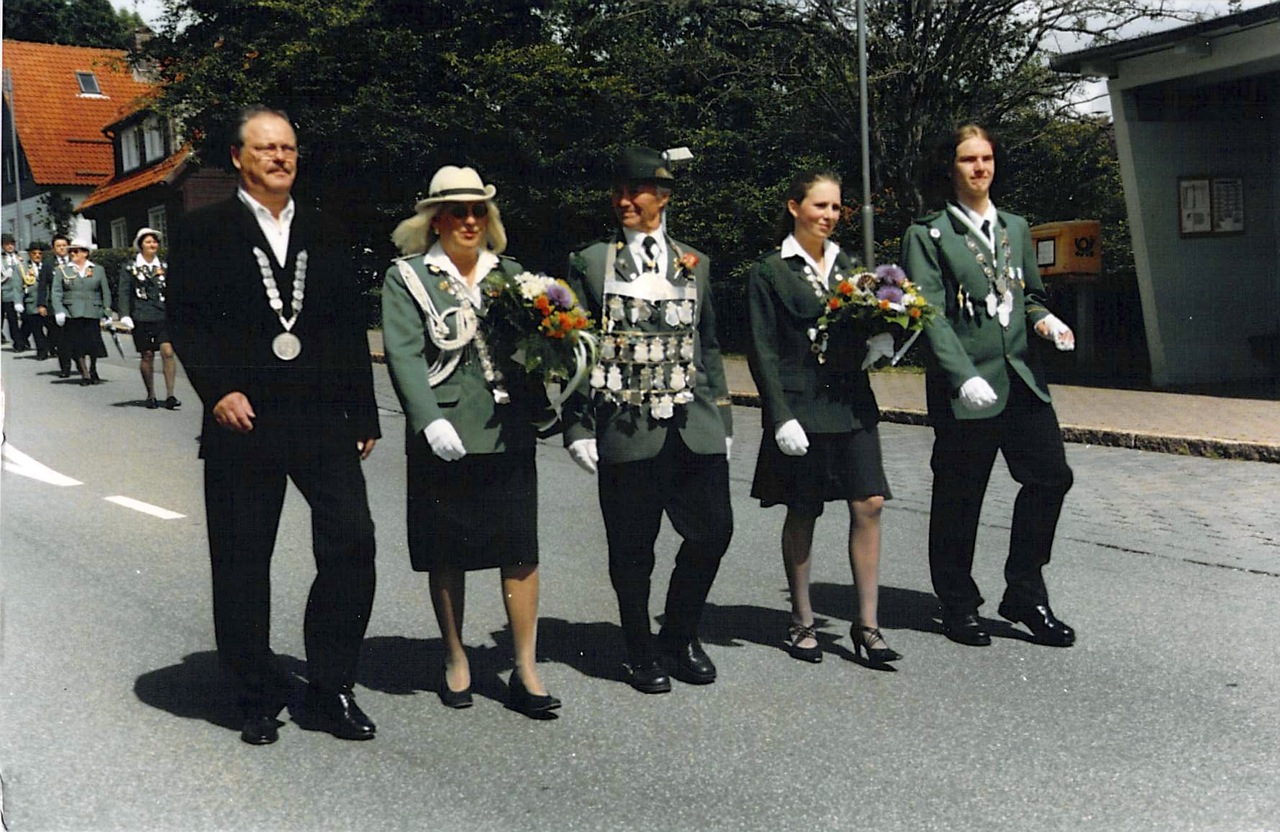 Schützenkönige 2004