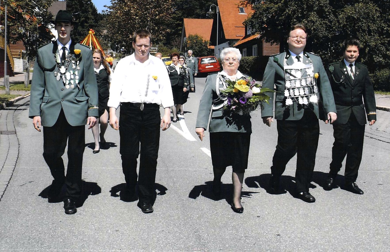Schützenkönige 2006
